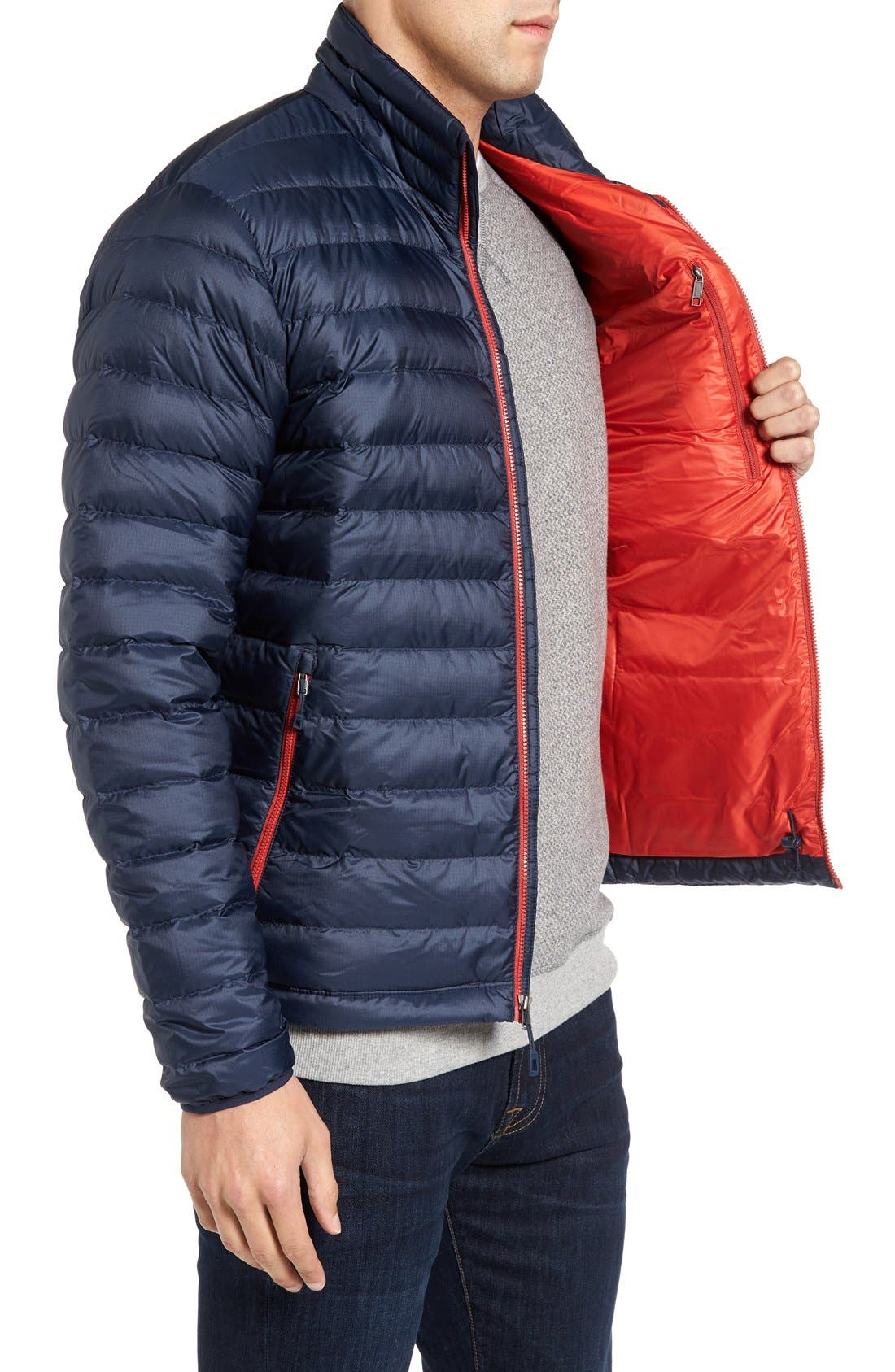 Water Repellent Down Jacket,                             Alternate thumbnail 57, color,