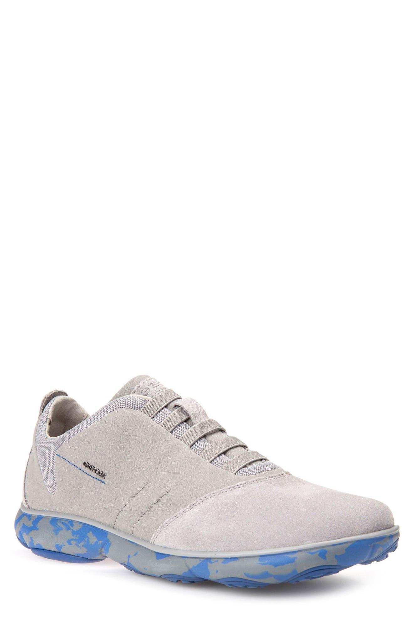 'Nebula 17' Slip-On Sneaker,                             Main thumbnail 1, color,                             STONE/ ROYAL