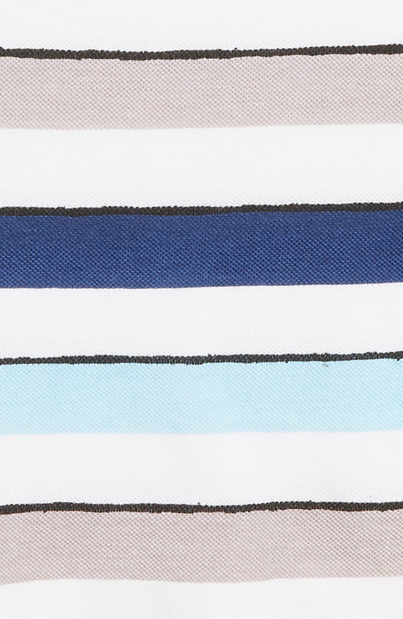 Reid Stripe T-Shirt,                             Alternate thumbnail 2, color,                             BLUE