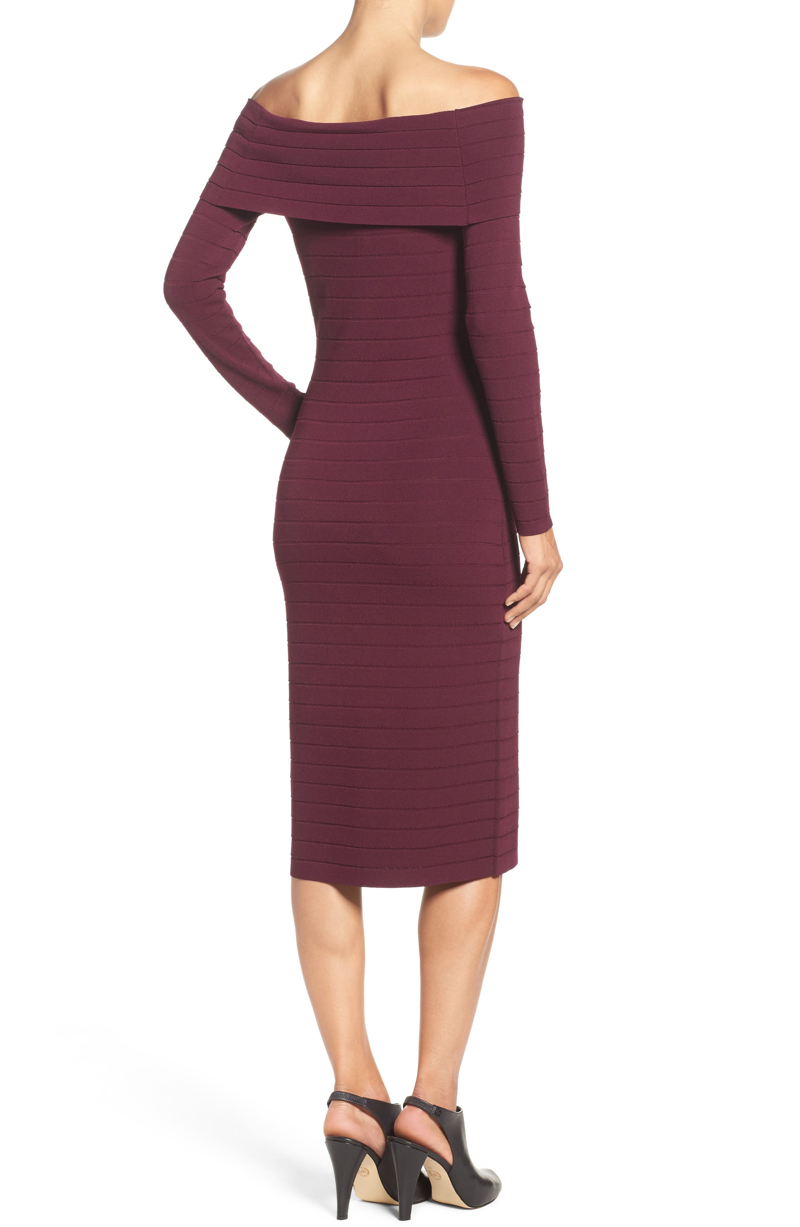 Bandage Midi Dress,                             Alternate thumbnail 15, color,