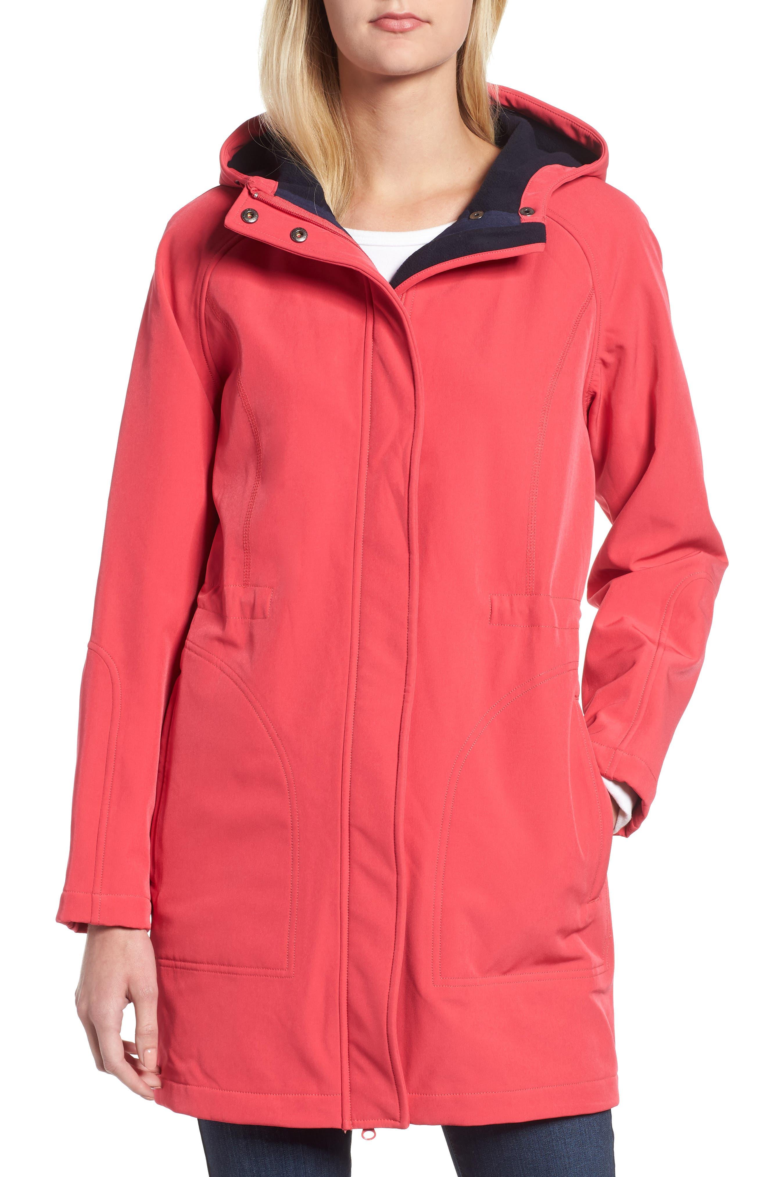 Right as Rain Fleece Lined Raincoat,                             Alternate thumbnail 13, color,