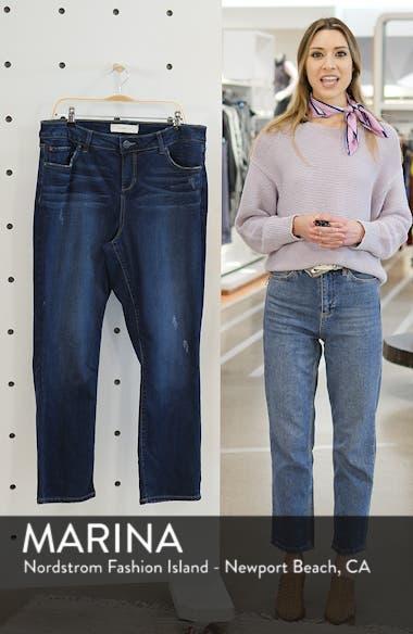 High Waist Crop Bootcut Jeans, sales video thumbnail