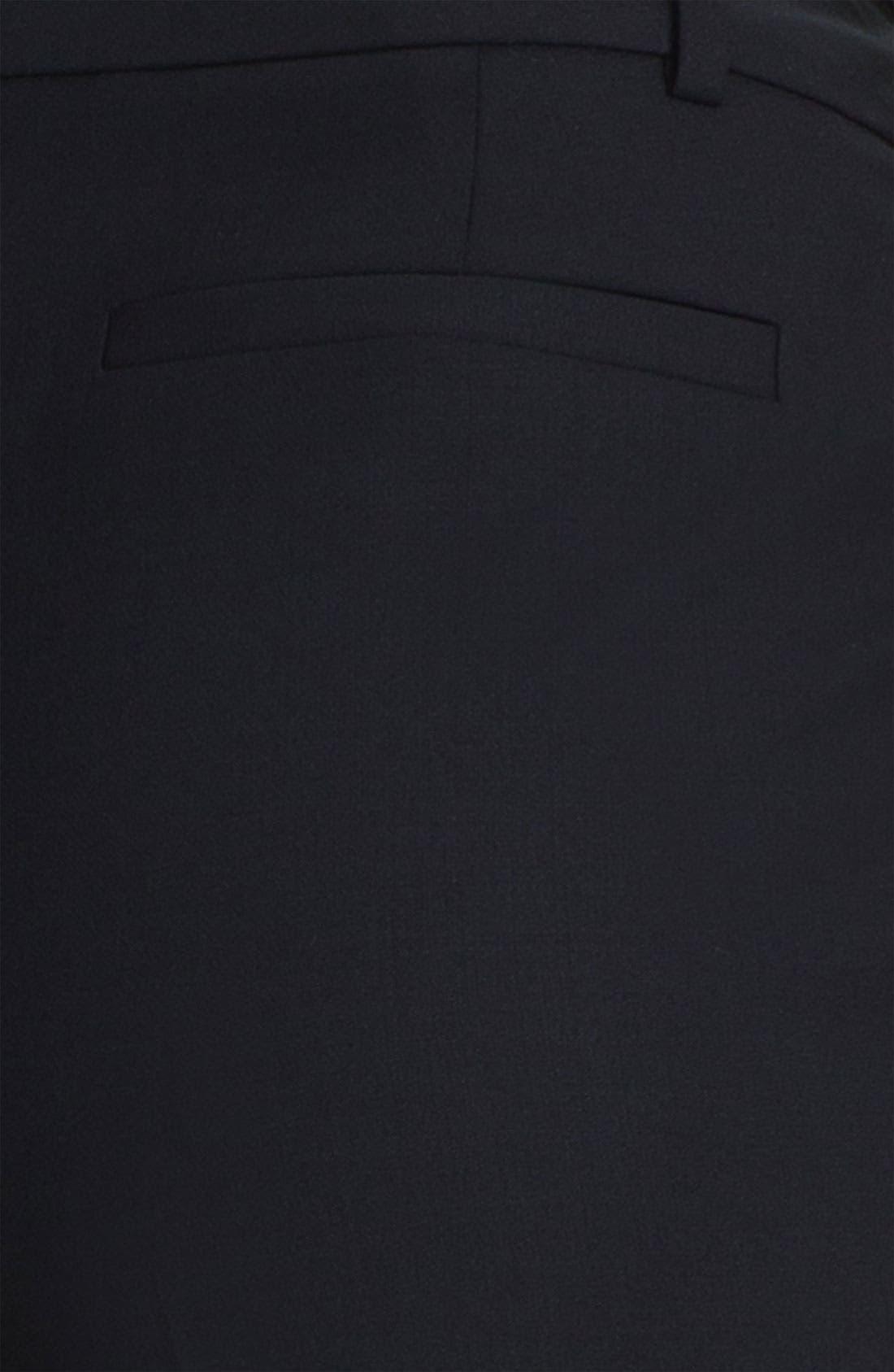 Classiques Entier Stretch Wool Pants,                             Alternate thumbnail 3, color,                             001
