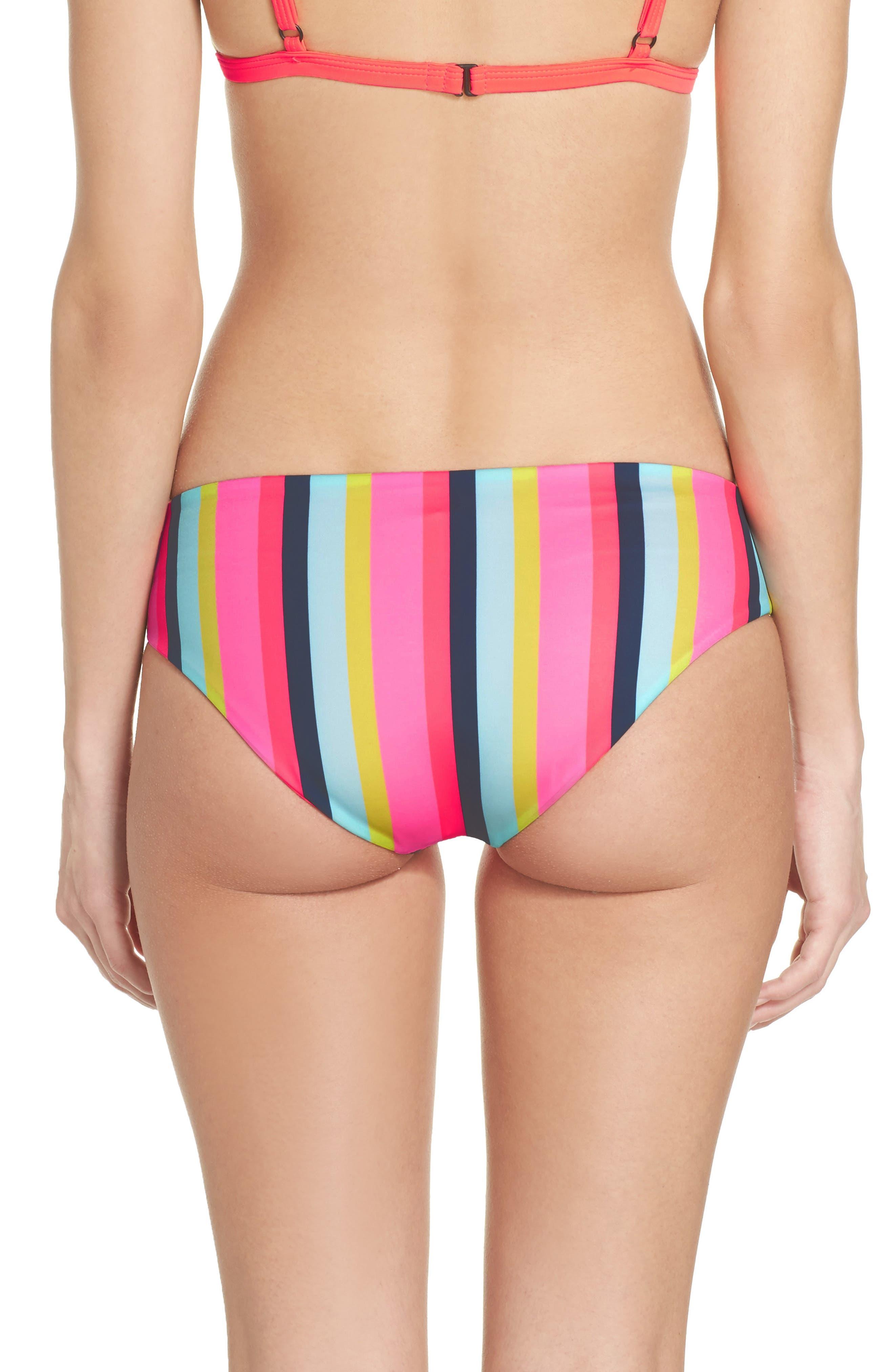 Reversible Hipster Bikini Bottoms,                             Alternate thumbnail 18, color,