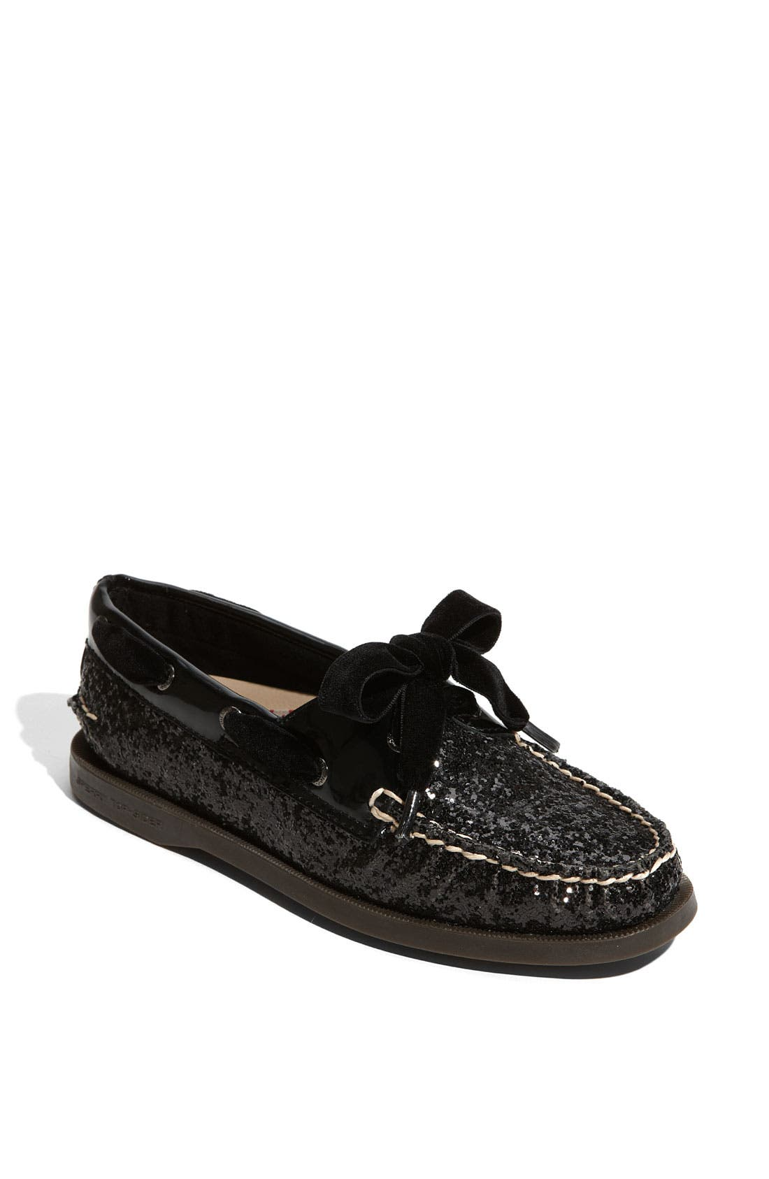 SPERRY,                             Top-Sider<sup>®</sup> 'Authentic Original Glitter' Boat Shoe,                             Main thumbnail 1, color,                             005