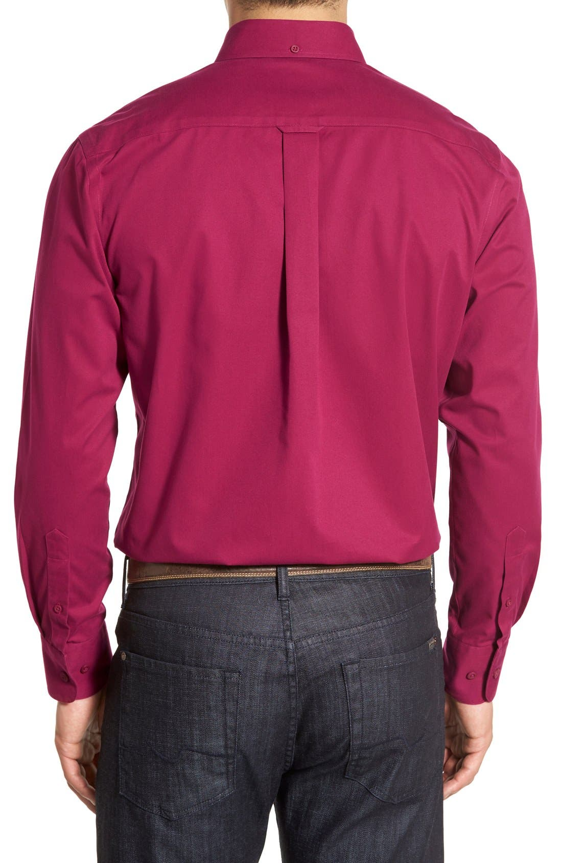 Smartcare<sup>™</sup> Traditional Fit Twill Boat Shirt,                             Alternate thumbnail 72, color,
