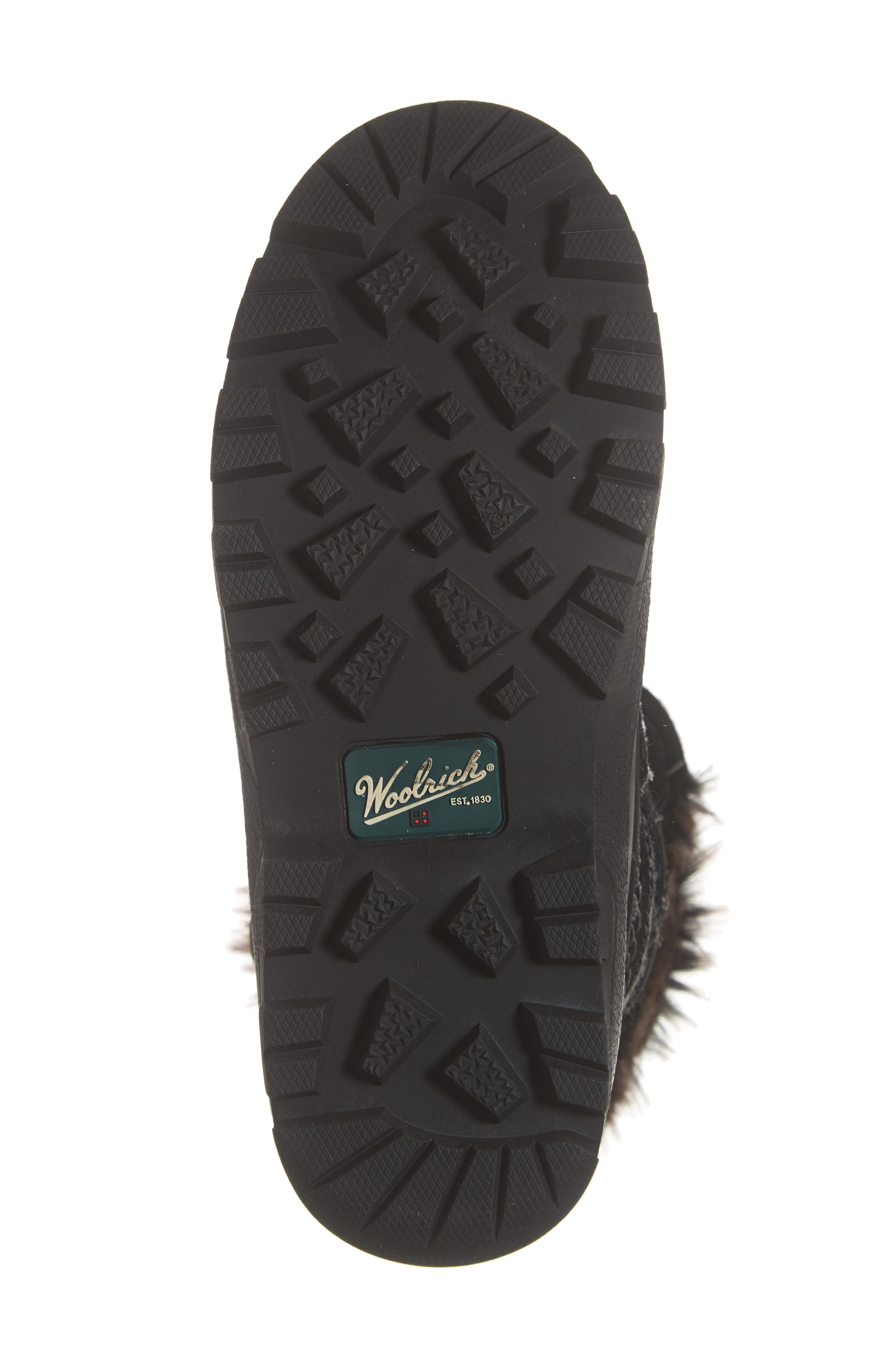 Icecat II Fully Wooly Waterproof Insulated Winter Boot,                             Alternate thumbnail 6, color,                             BLACK WOOL