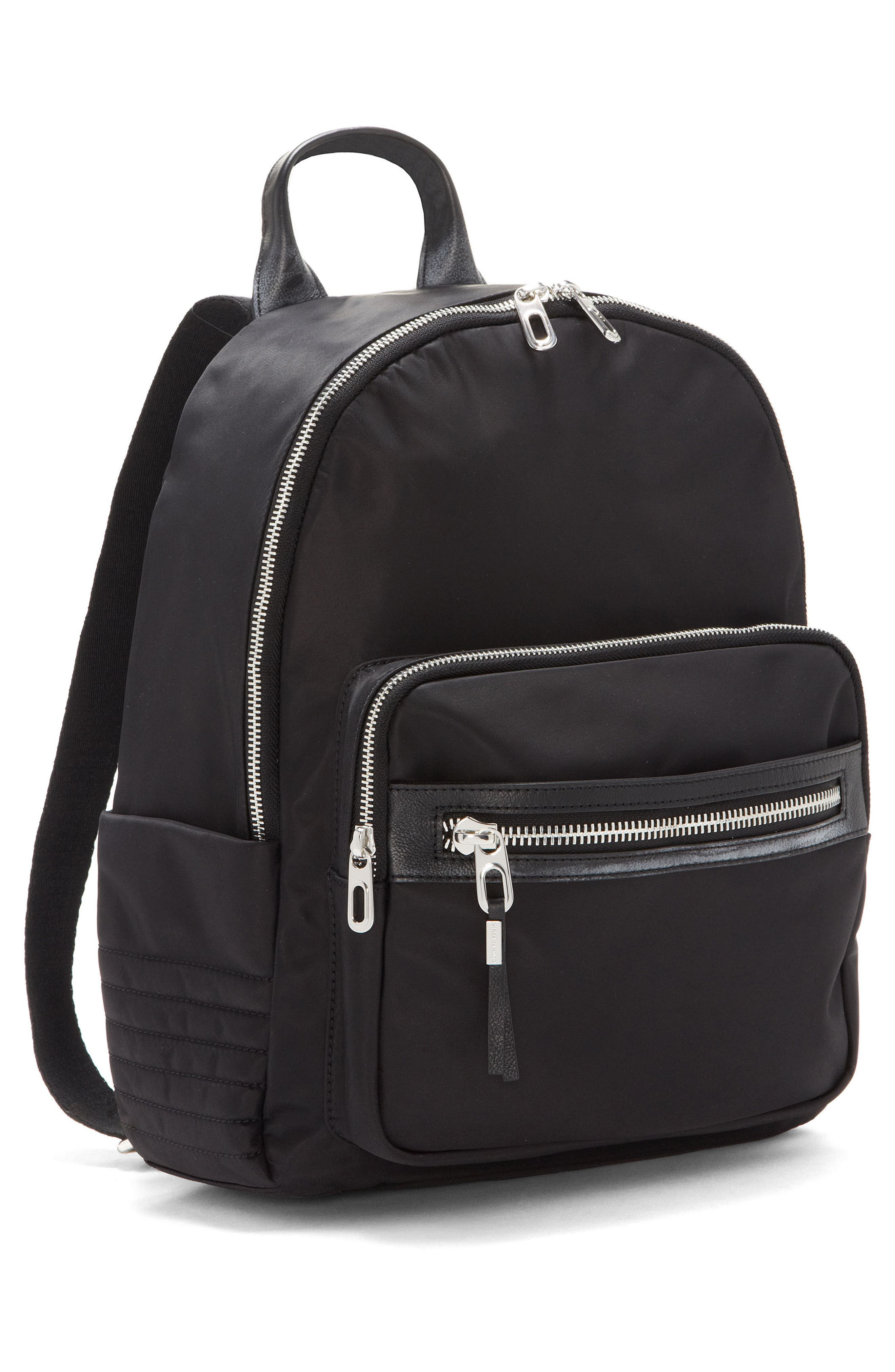 Action Nylon Backpack,                             Alternate thumbnail 4, color,                             001
