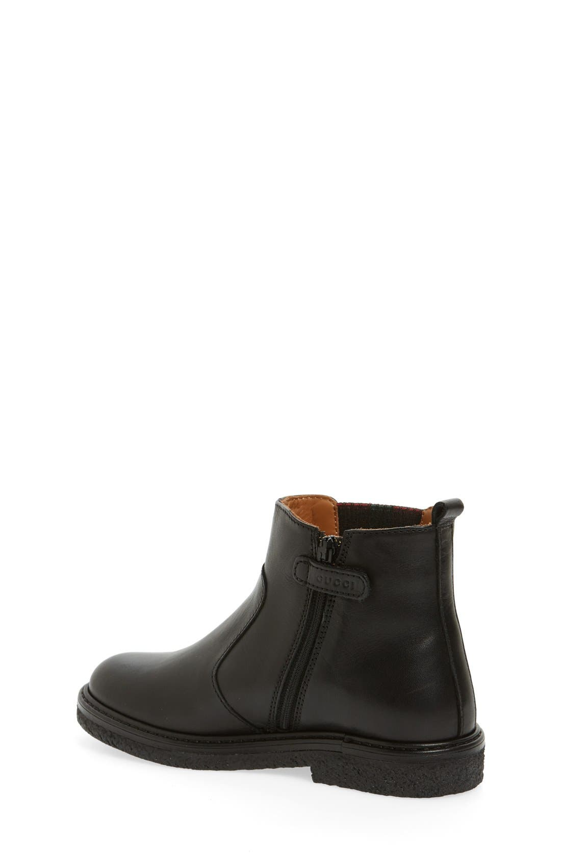 'Joshua' Chelsea Boot,                             Alternate thumbnail 3, color,                             001
