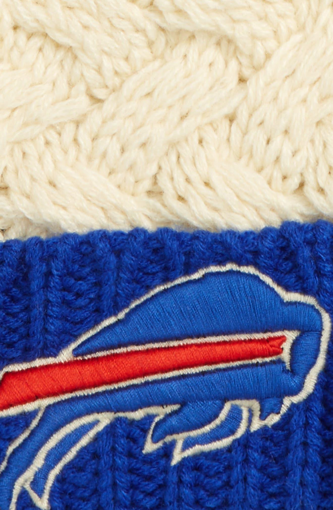 Matterhorn Buffalo Bills Beanie,                             Alternate thumbnail 2, color,