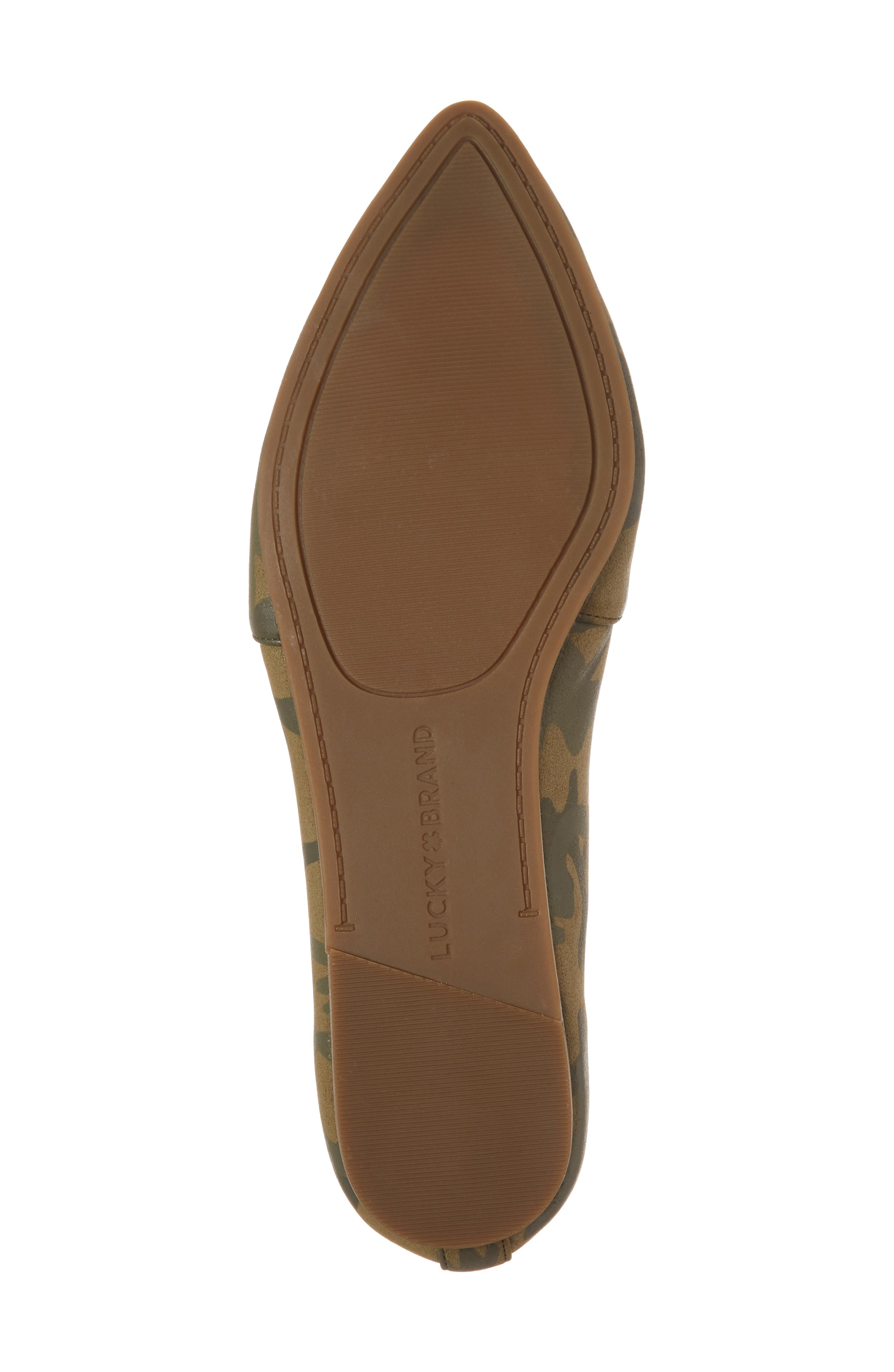 Beechmer Pointy Toe Flat,                             Alternate thumbnail 28, color,