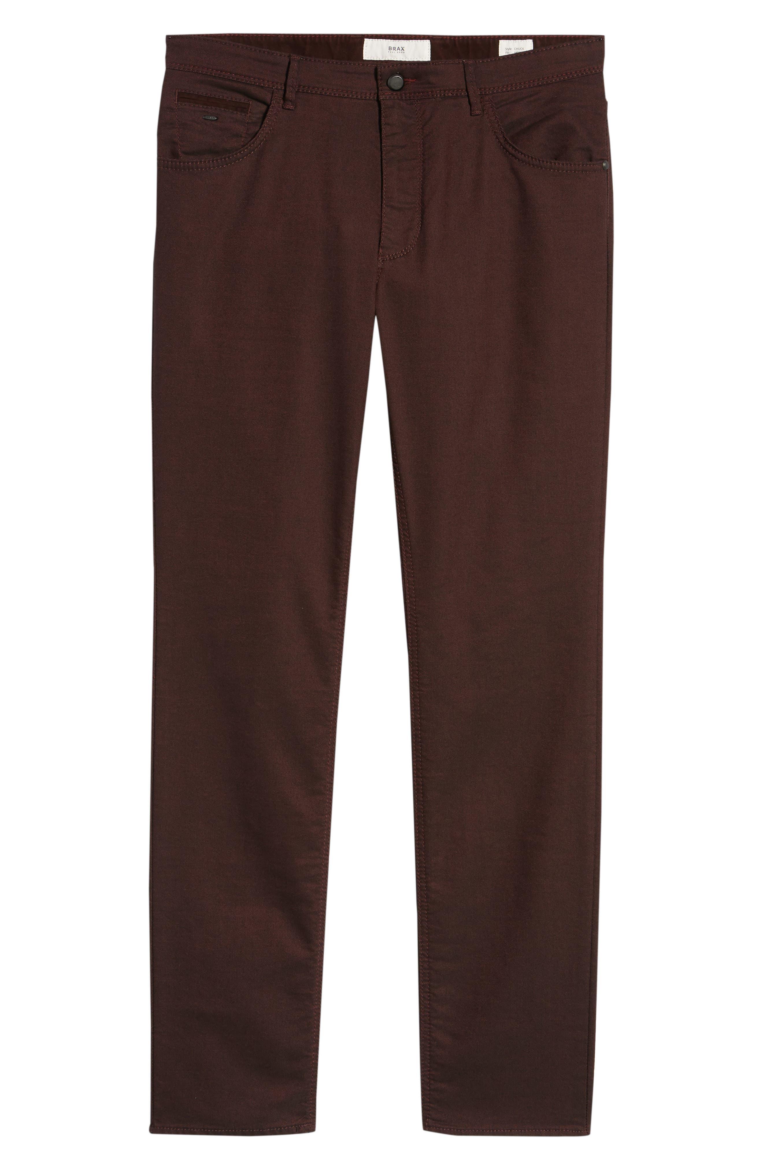 BRAX,                             Slim Fit Five-Pocket Pants,                             Alternate thumbnail 6, color,                             602