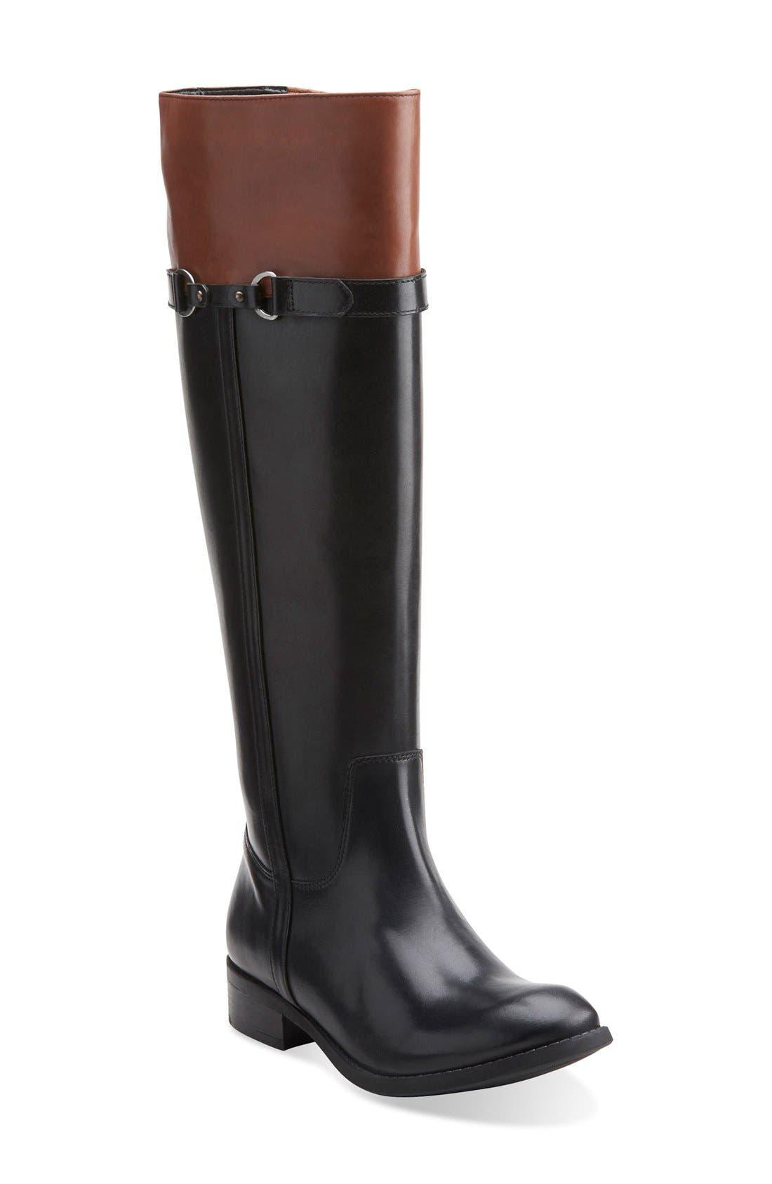 'Pita Topeka' WaterproofRiding Boot, Main, color, 003