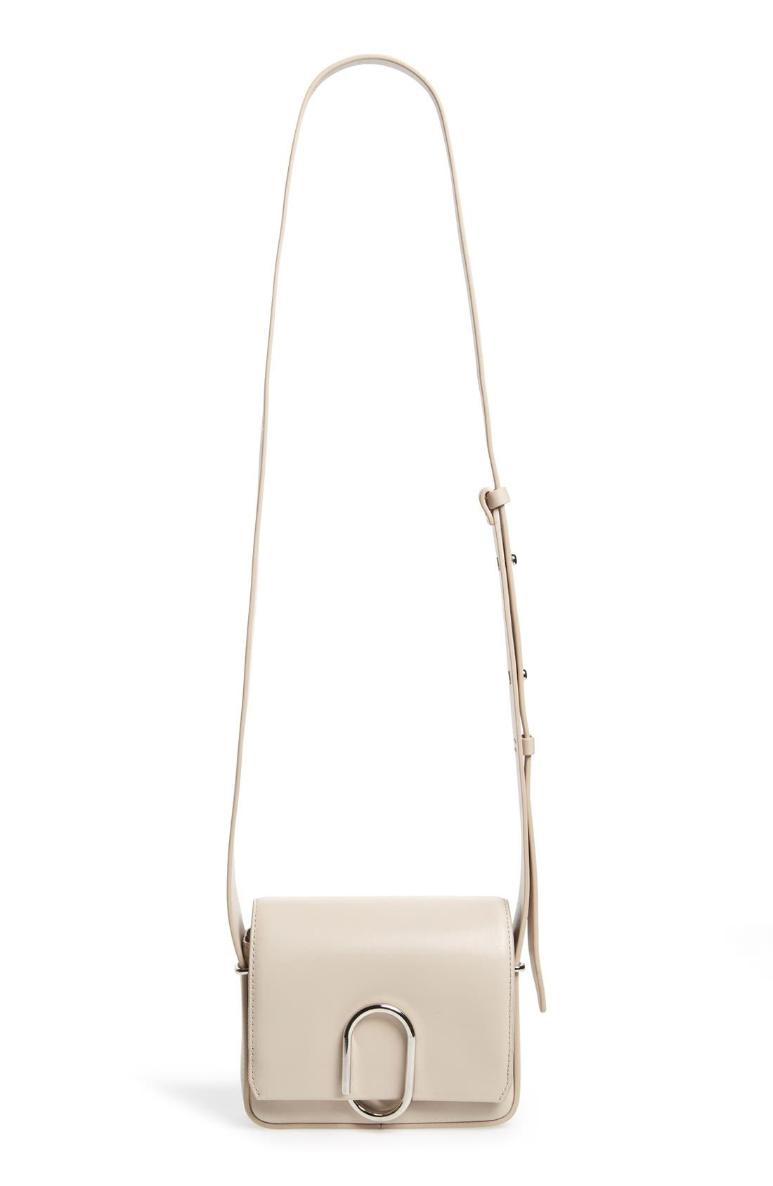 'Mini Alix' Leather Shoulder Bag,                             Main thumbnail 1, color,                             110