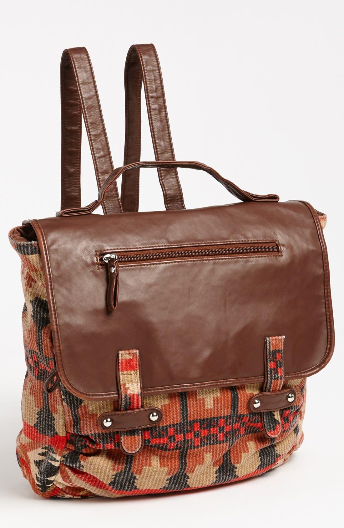 LULU Canvas Backpack, Main, color, 800