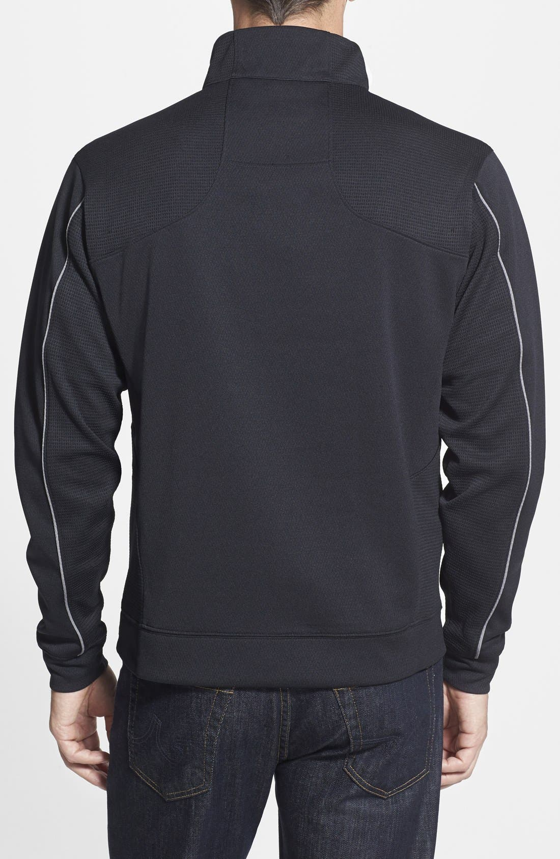 Green Bay Packers - Edge DryTec Moisture Wicking Half Zip Pullover,                             Alternate thumbnail 2, color,                             001