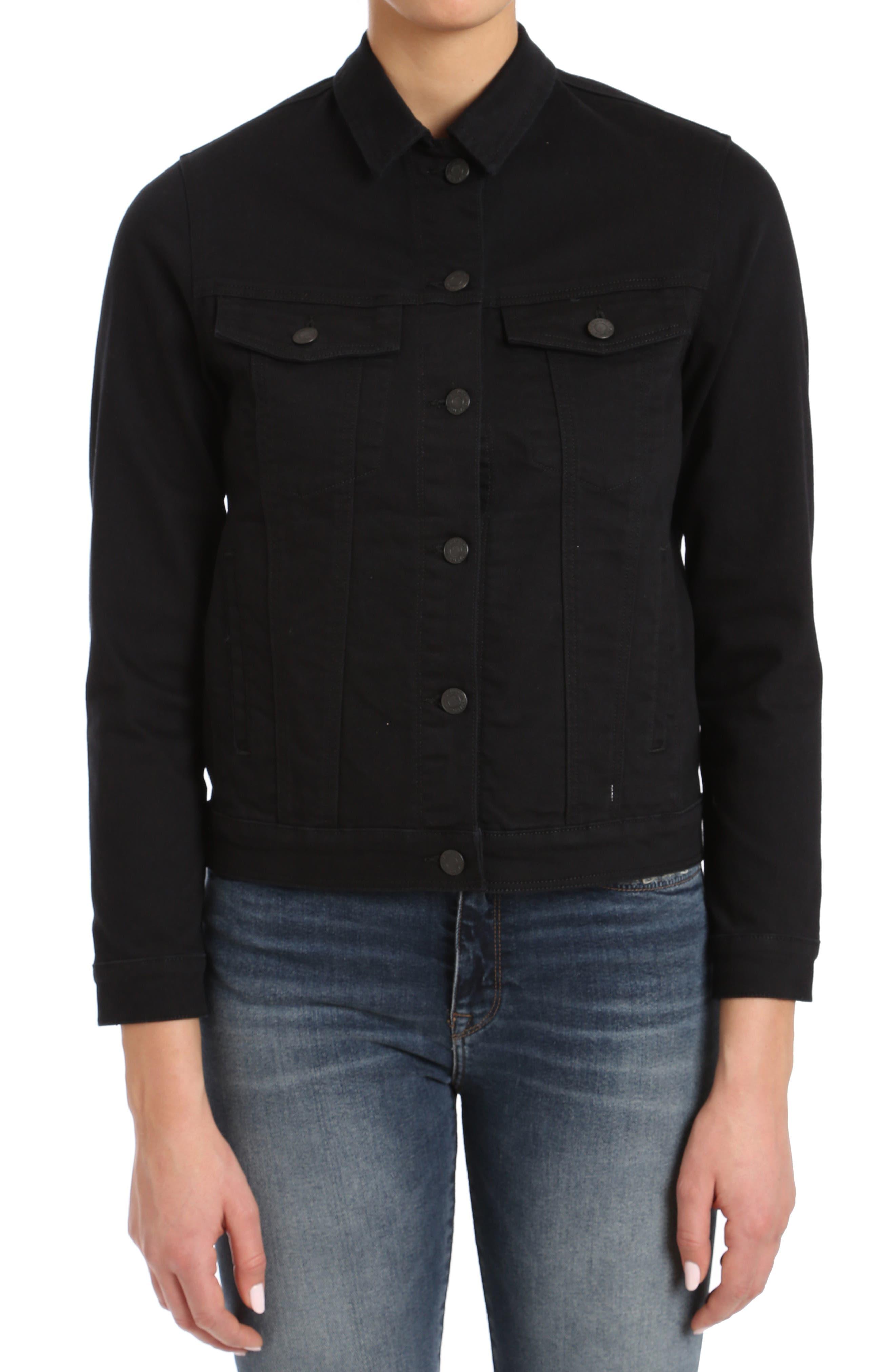 Katy Black Comfort Jacket,                             Main thumbnail 1, color,                             001
