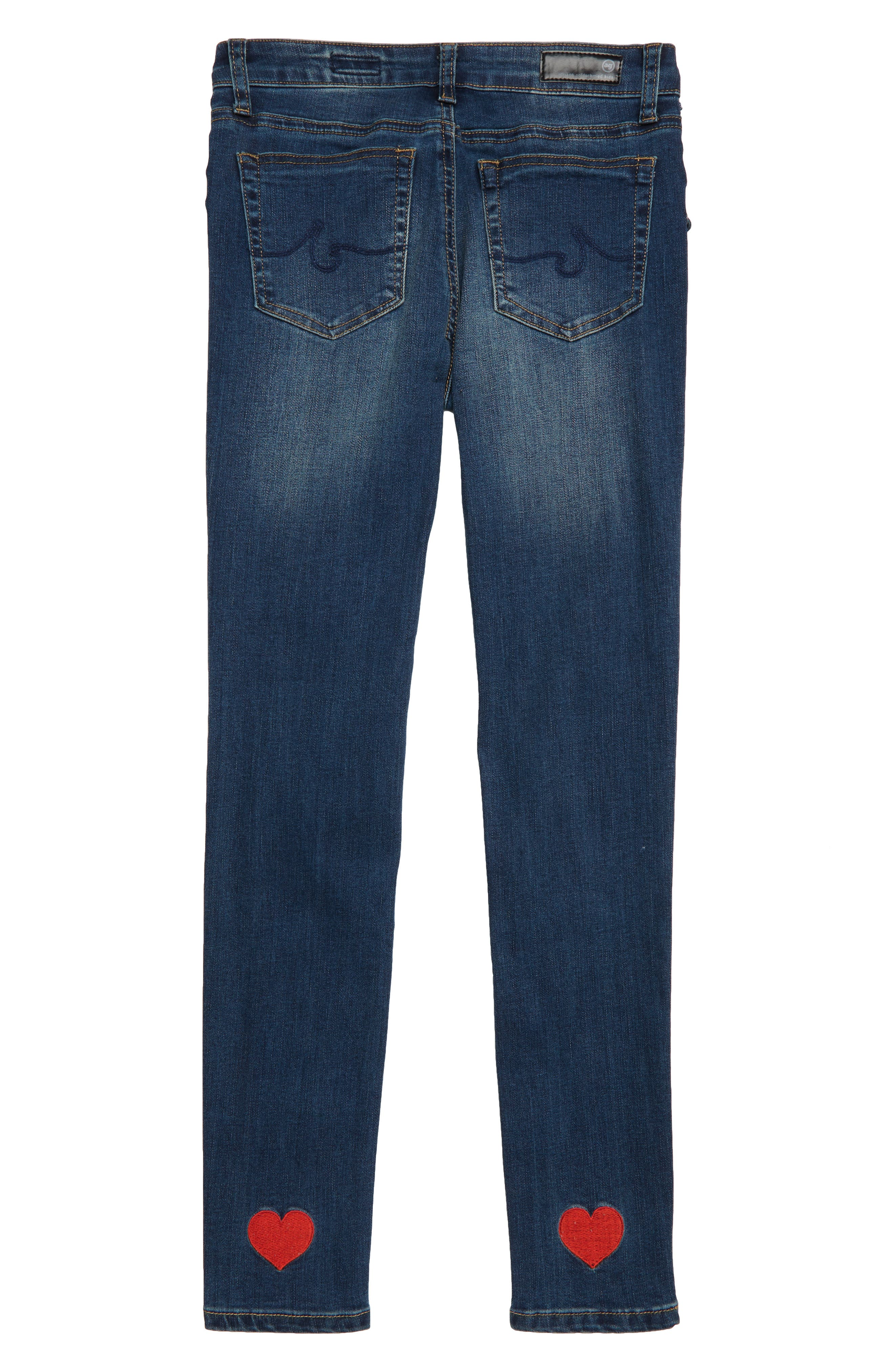 The Bexley Laced-Up Super Skinny Jeans,                             Alternate thumbnail 2, color,                             472