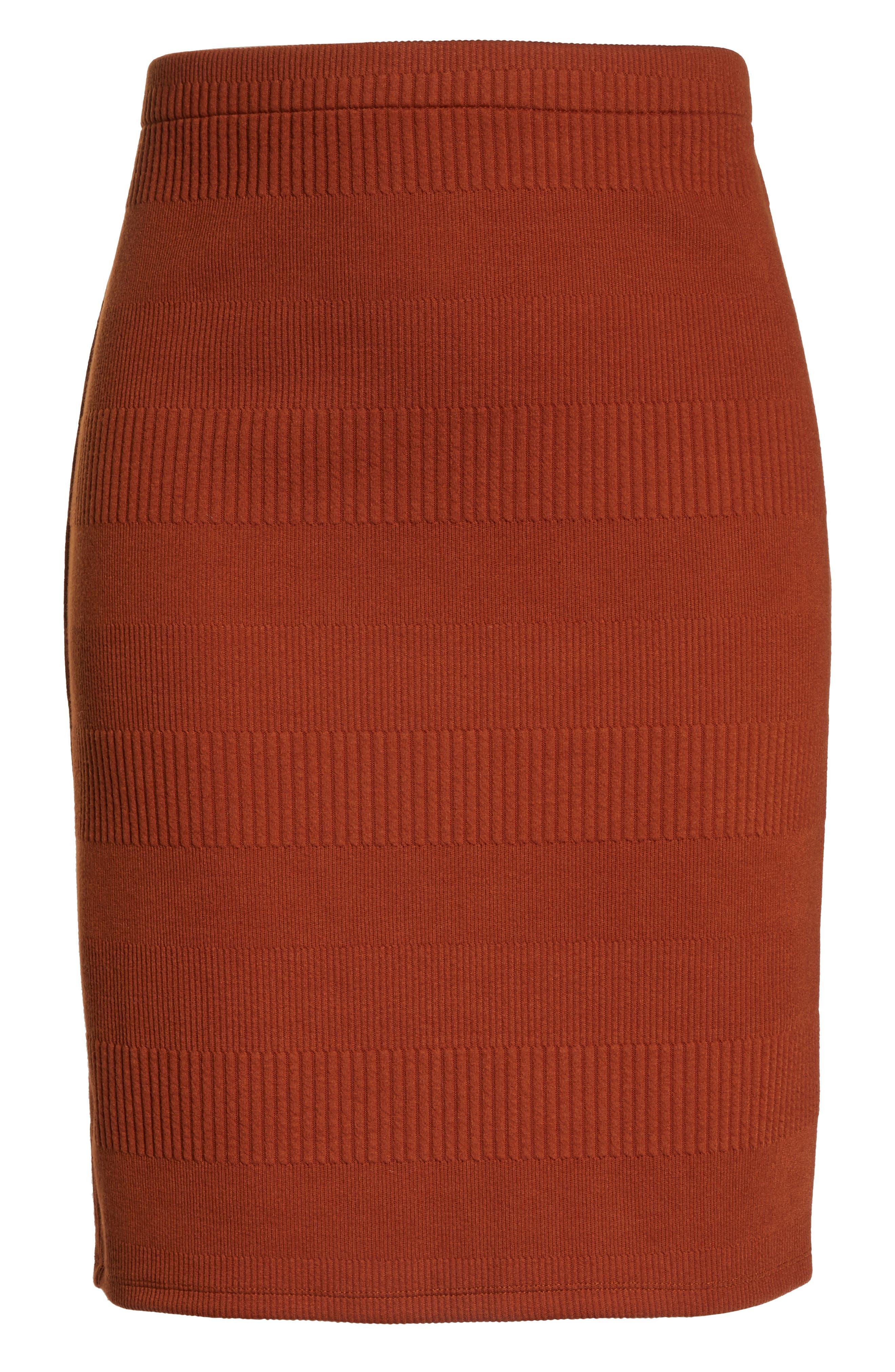 Midi Pencil Skirt,                             Alternate thumbnail 6, color,                             210