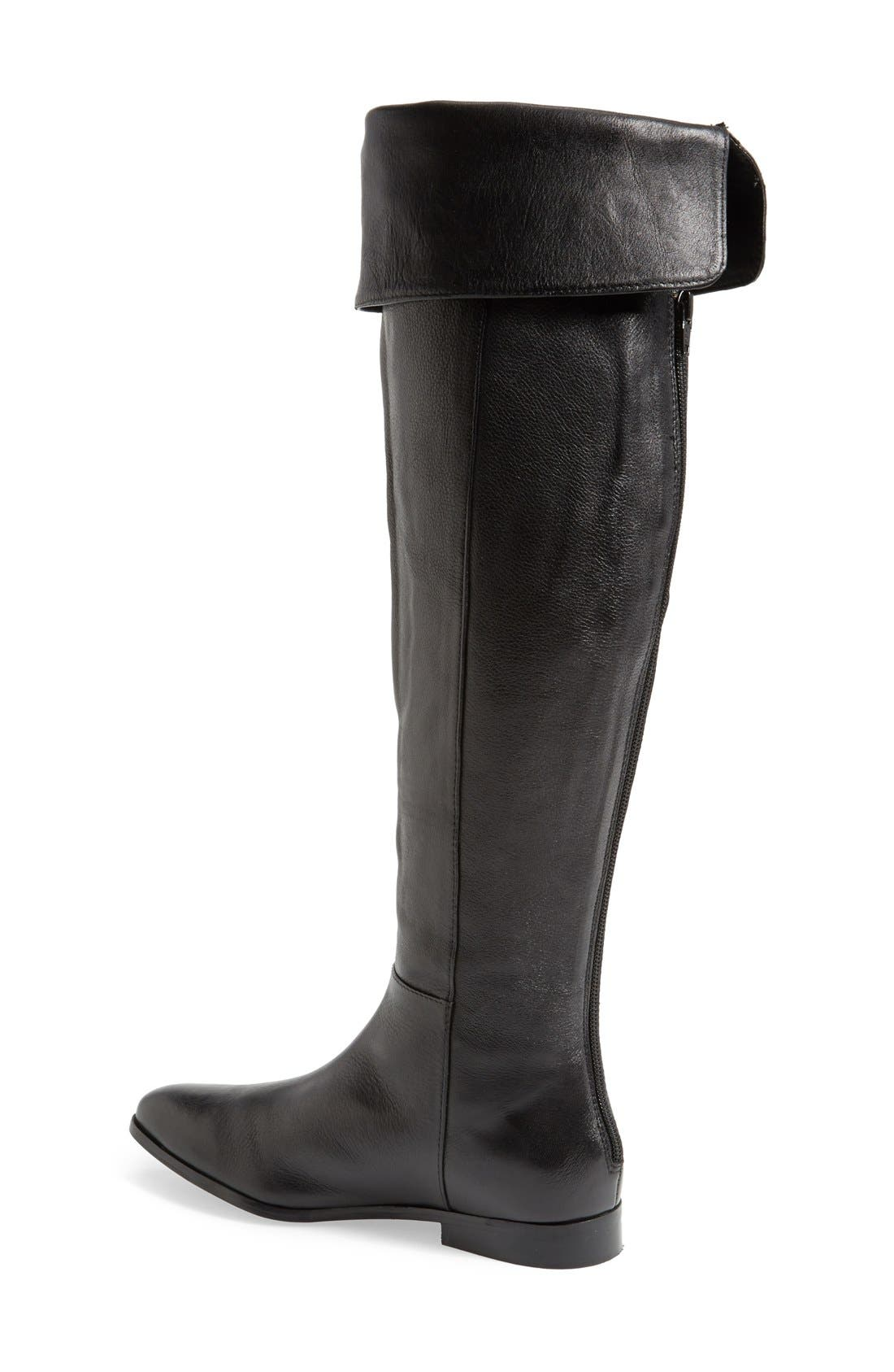 'Victory' Over the Knee Boot,                             Alternate thumbnail 2, color,                             001