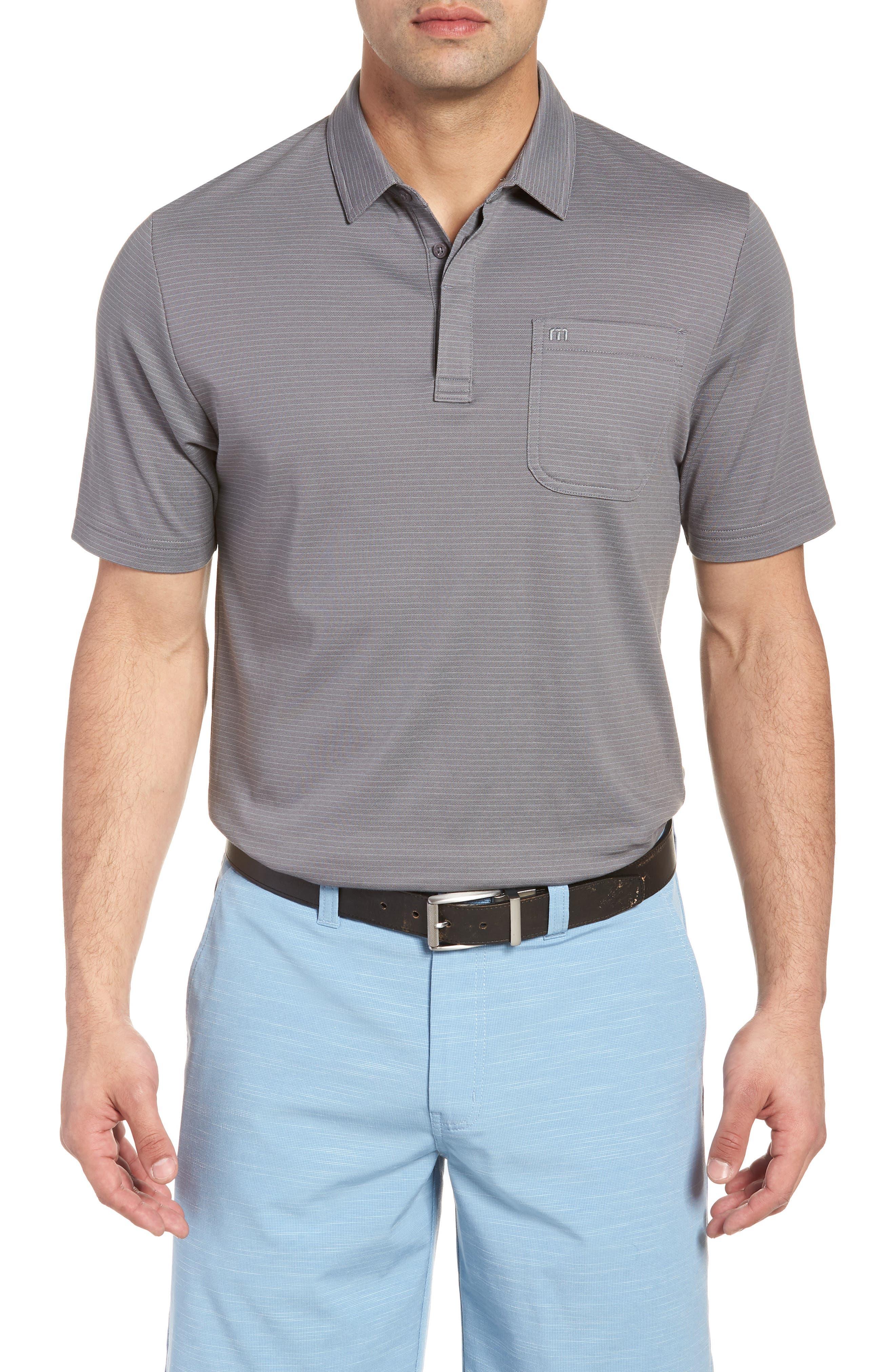 Watty Stripe Cotton Blend Polo,                             Main thumbnail 1, color,                             020