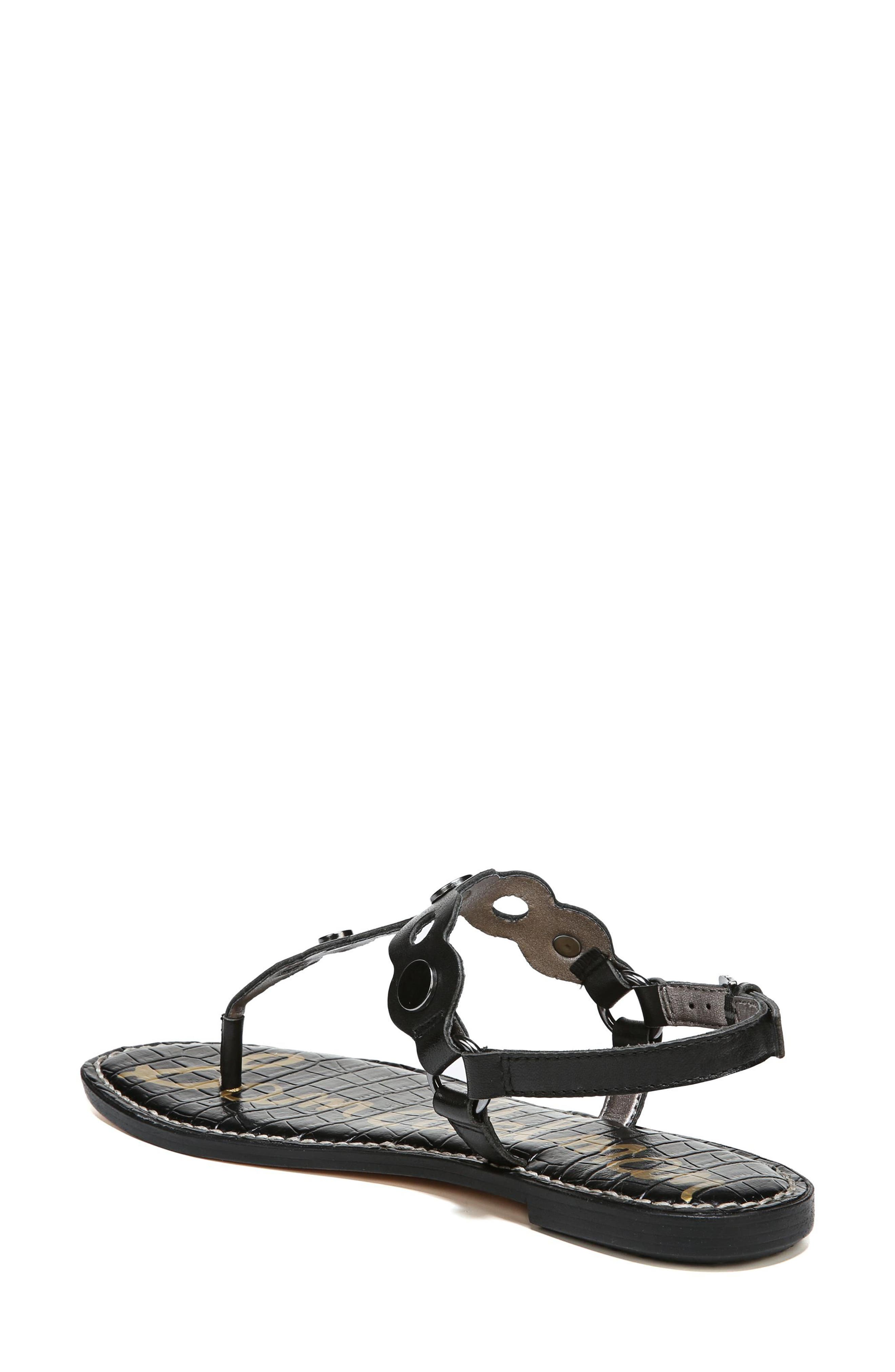 Gilly T-Strap Sandal,                             Alternate thumbnail 5, color,