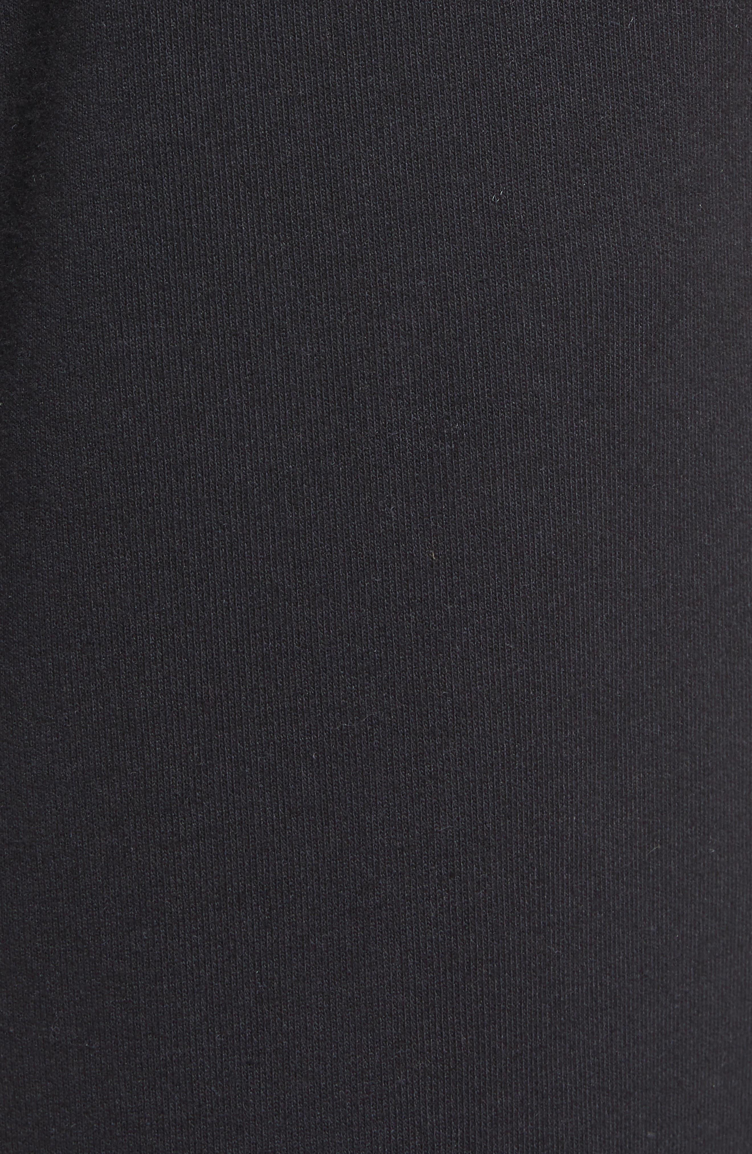 Cropped Sweatpants,                             Alternate thumbnail 5, color,                             001