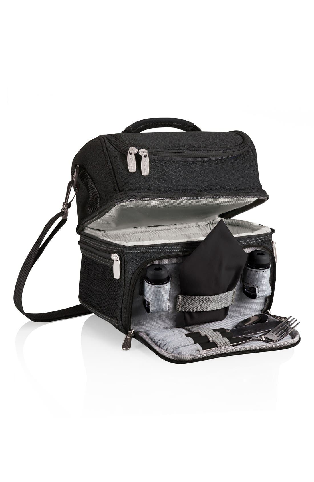 Picnic Time Pranzo Insulated Lunch Tote,                             Main thumbnail 1, color,                             001