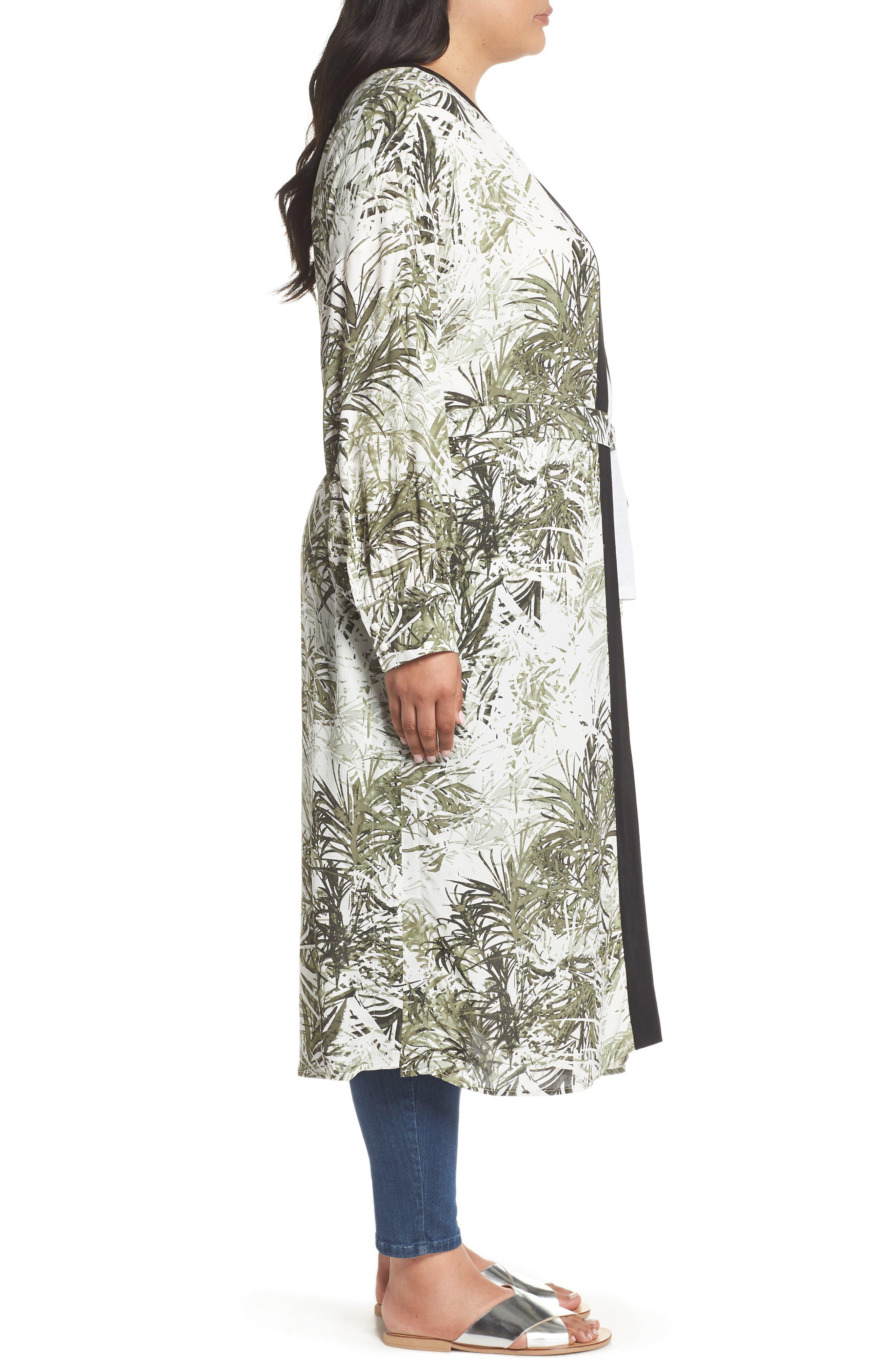 Calico Kimono,                             Alternate thumbnail 4, color,                             306