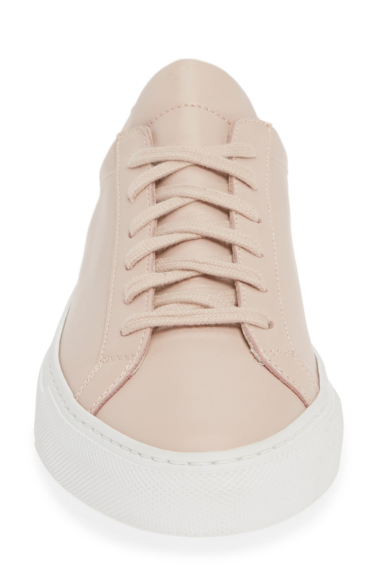COMMON PROJECTS,                             Original Achilles Sneaker,                             Alternate thumbnail 4, color,                             BLUSH