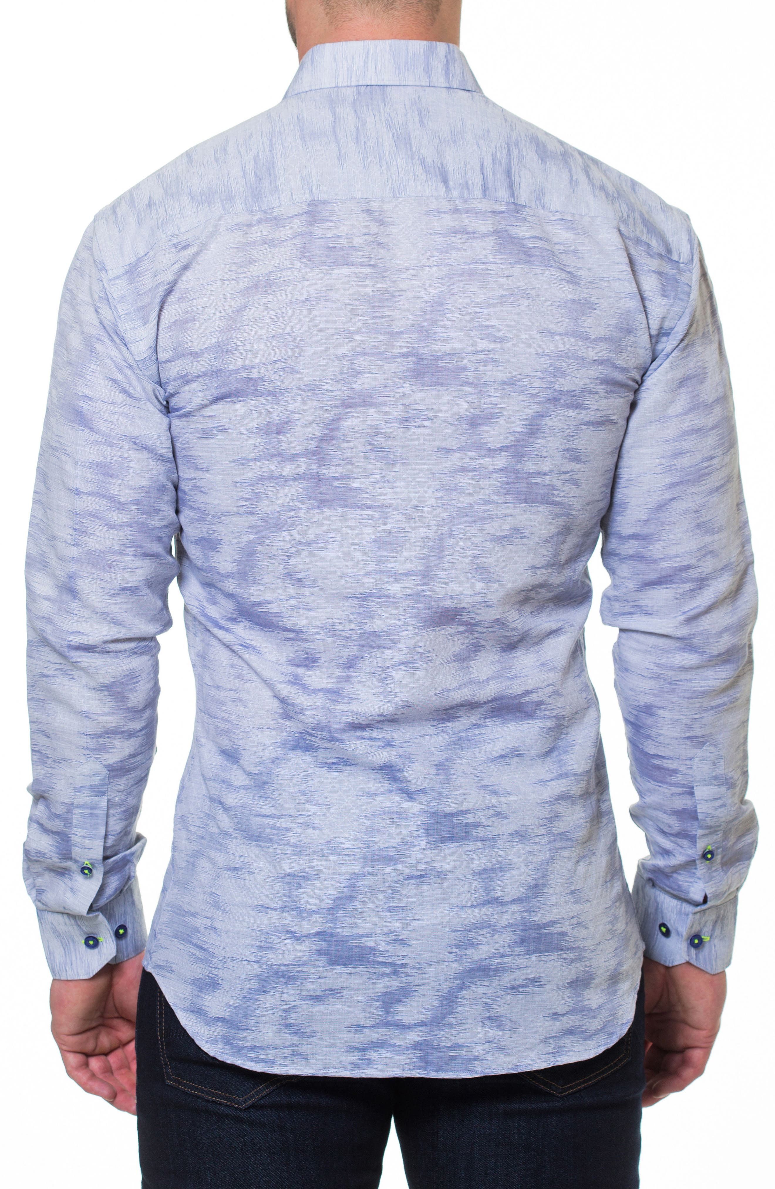 Luxor Richter Slim Fit Sport Shirt,                             Alternate thumbnail 2, color,                             030