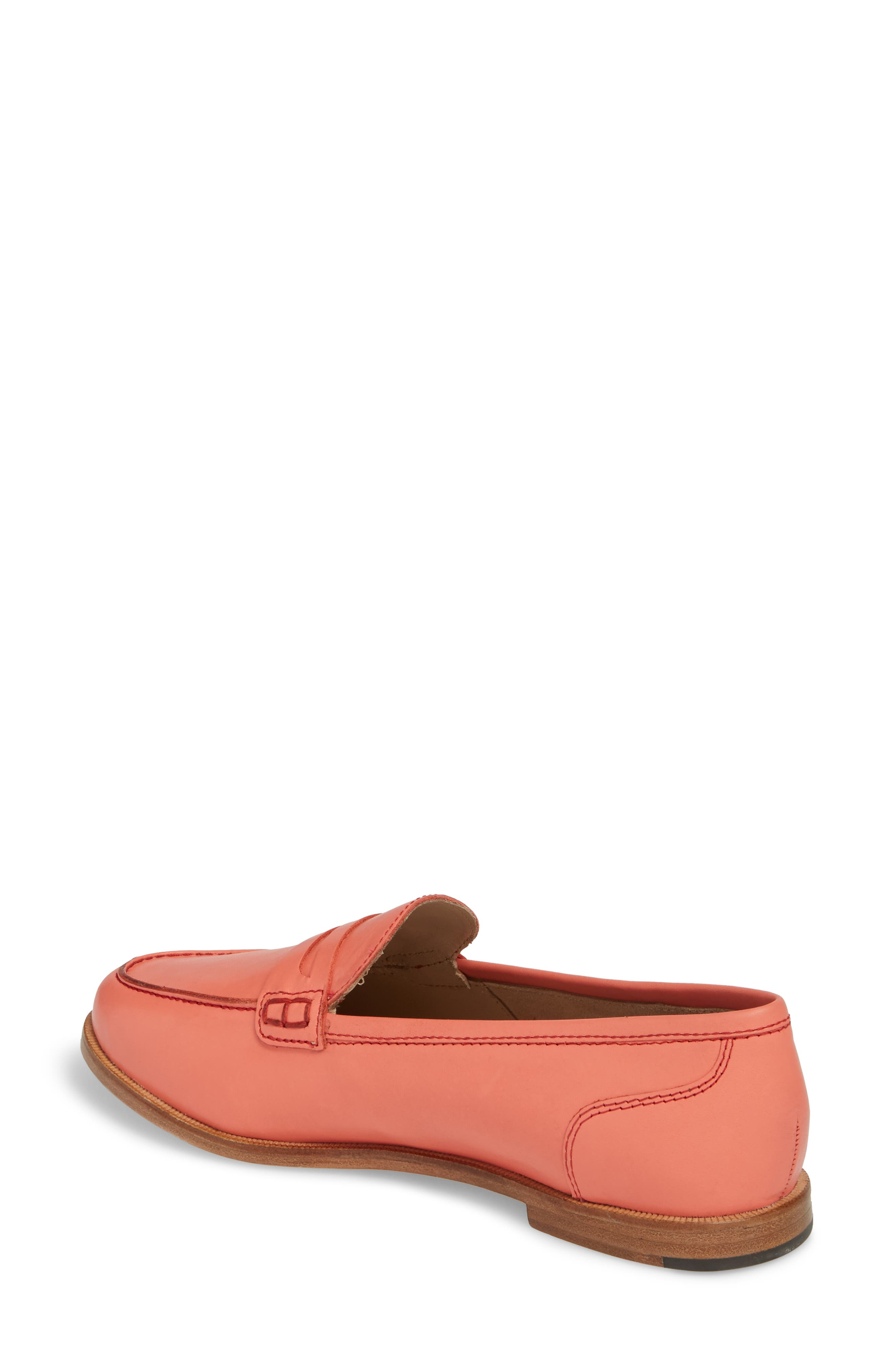 Ryan Penny Loafer,                             Alternate thumbnail 2, color,                             RUST LEATHER