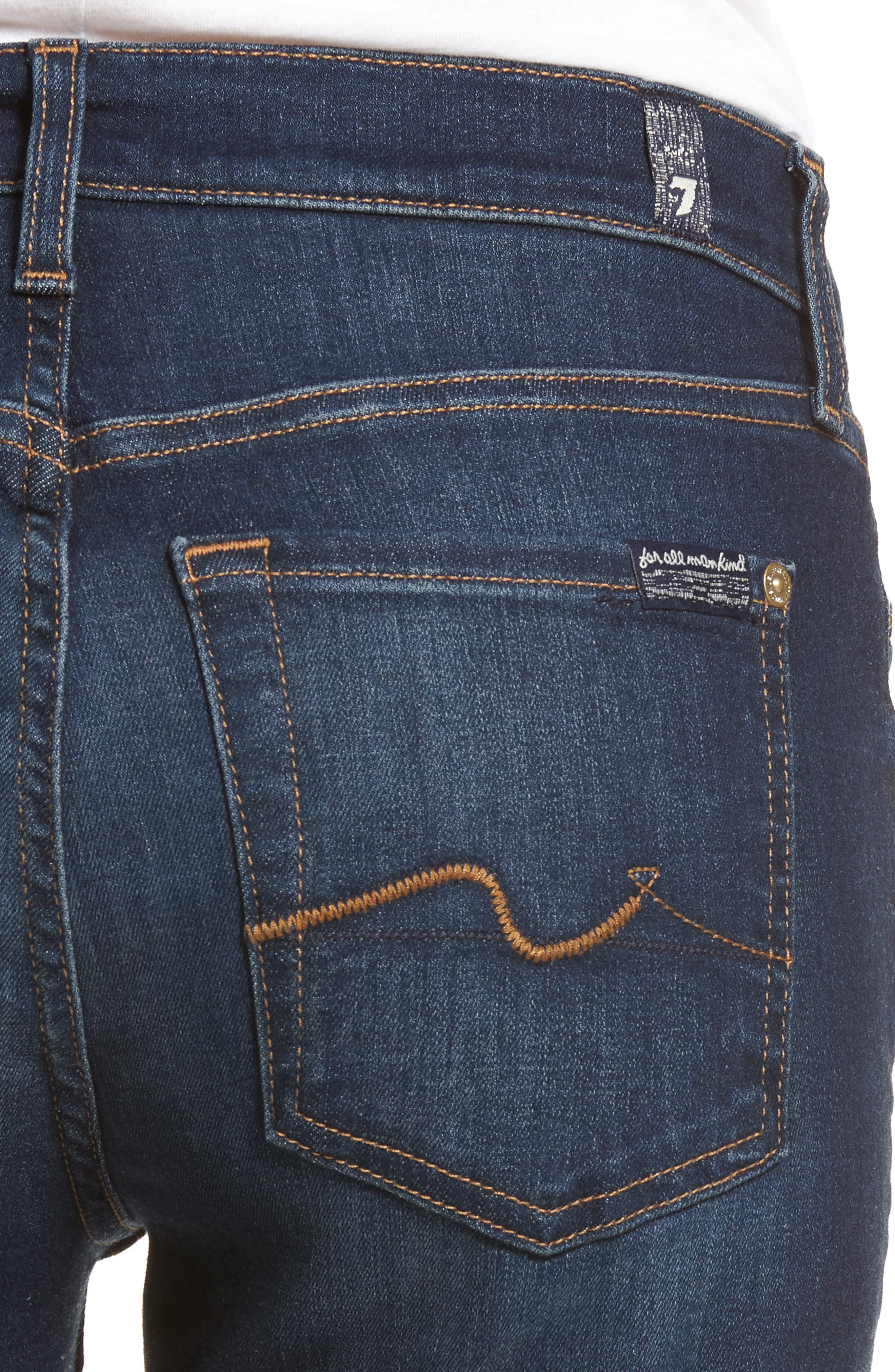 b(air) Iconic Bootcut Jeans,                             Alternate thumbnail 4, color,                             MORENO