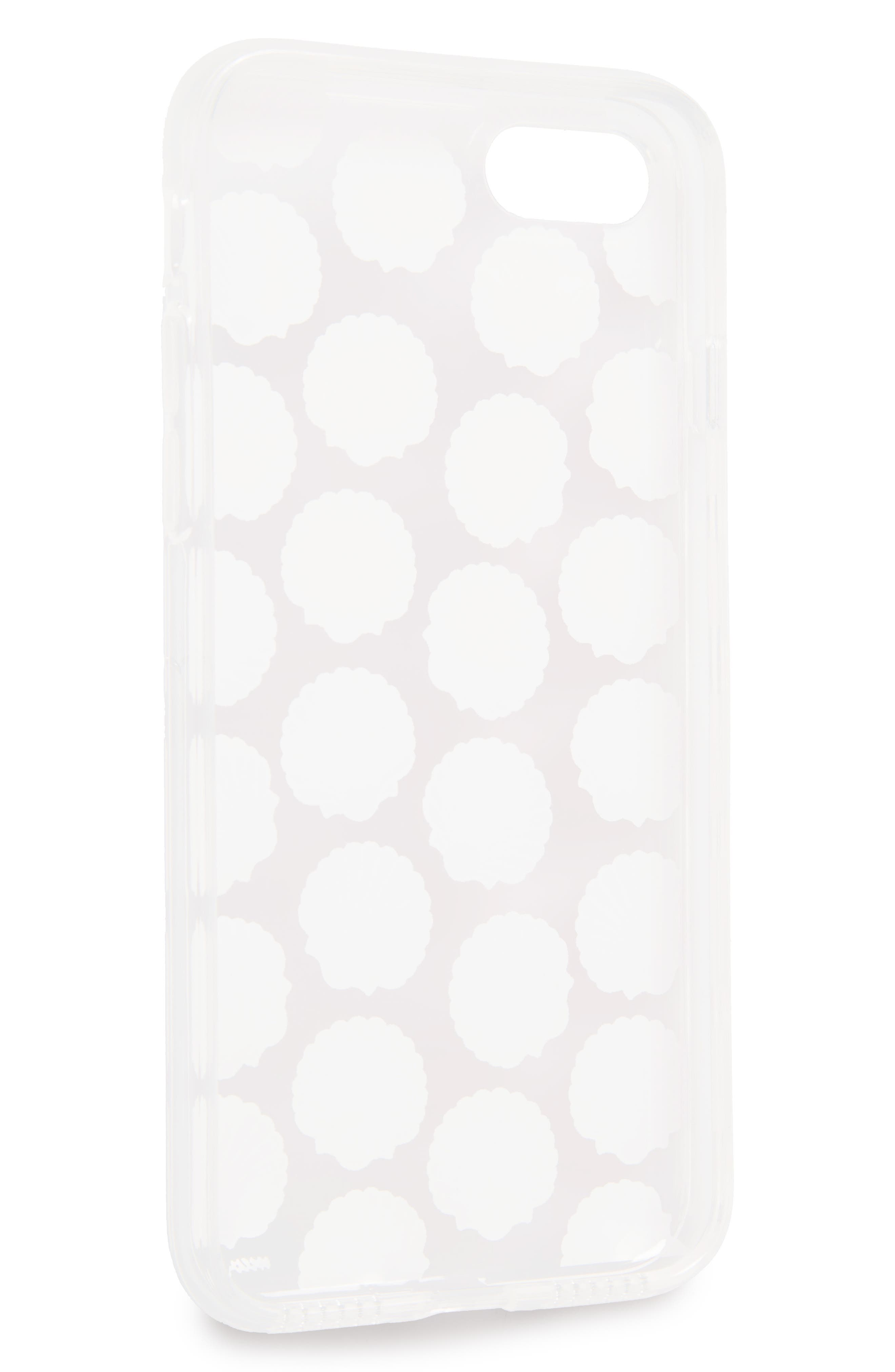 Small Shells iPhone 7 Case,                             Alternate thumbnail 2, color,                             650