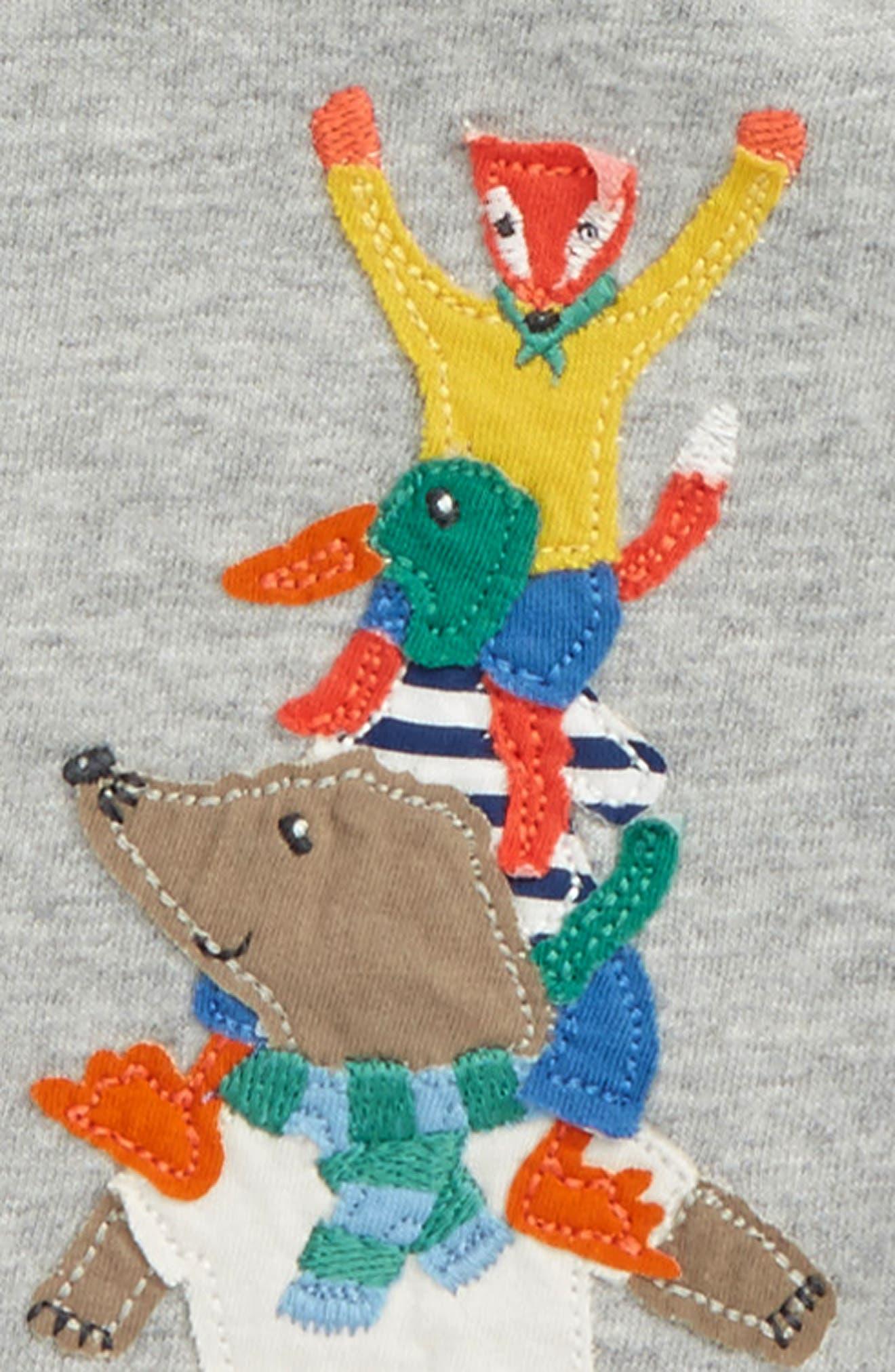 Big Appliqué T-Shirt,                             Alternate thumbnail 2, color,