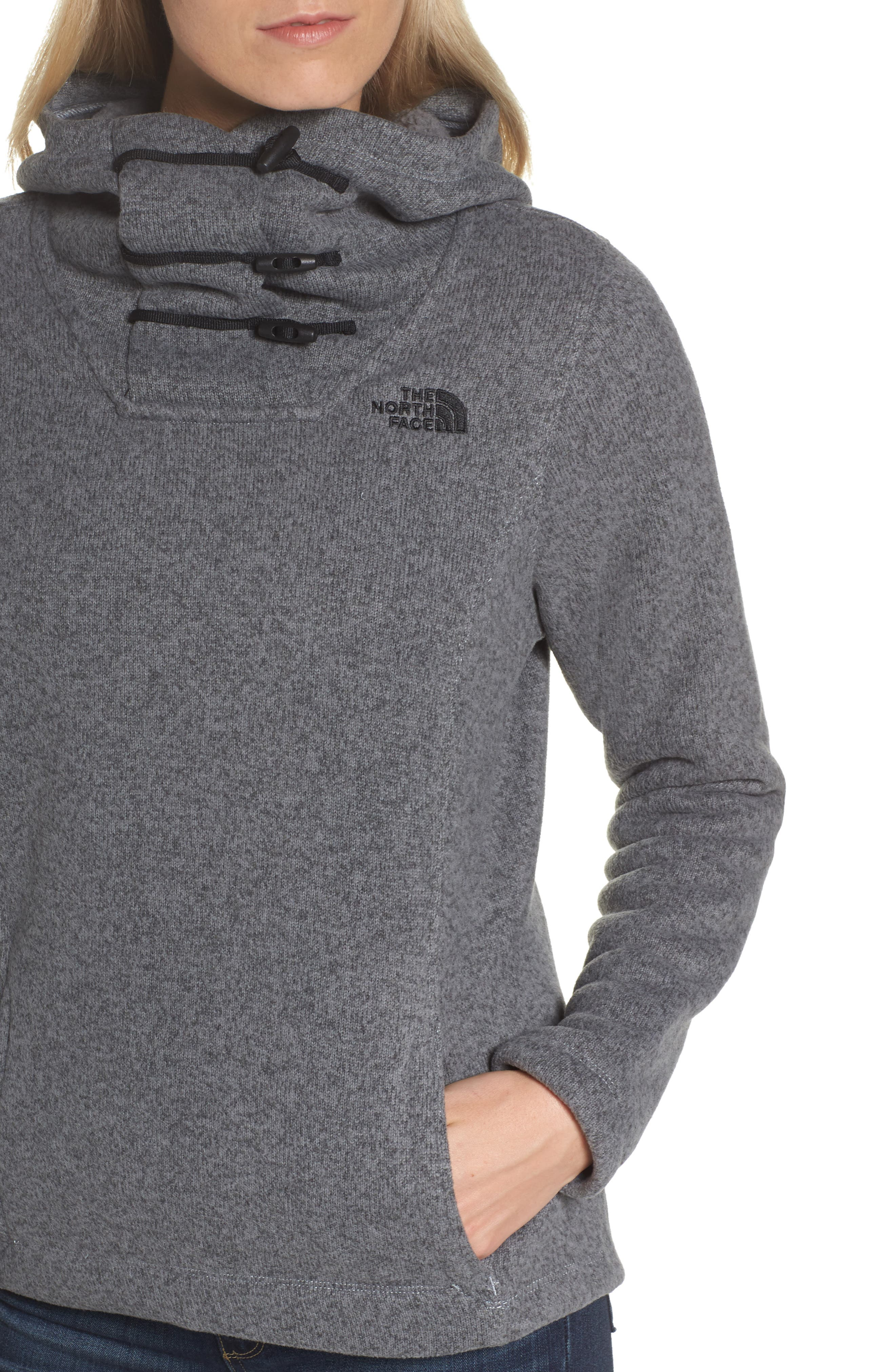 THE NORTH FACE,                             Crescent Hoodie,                             Alternate thumbnail 5, color,                             030