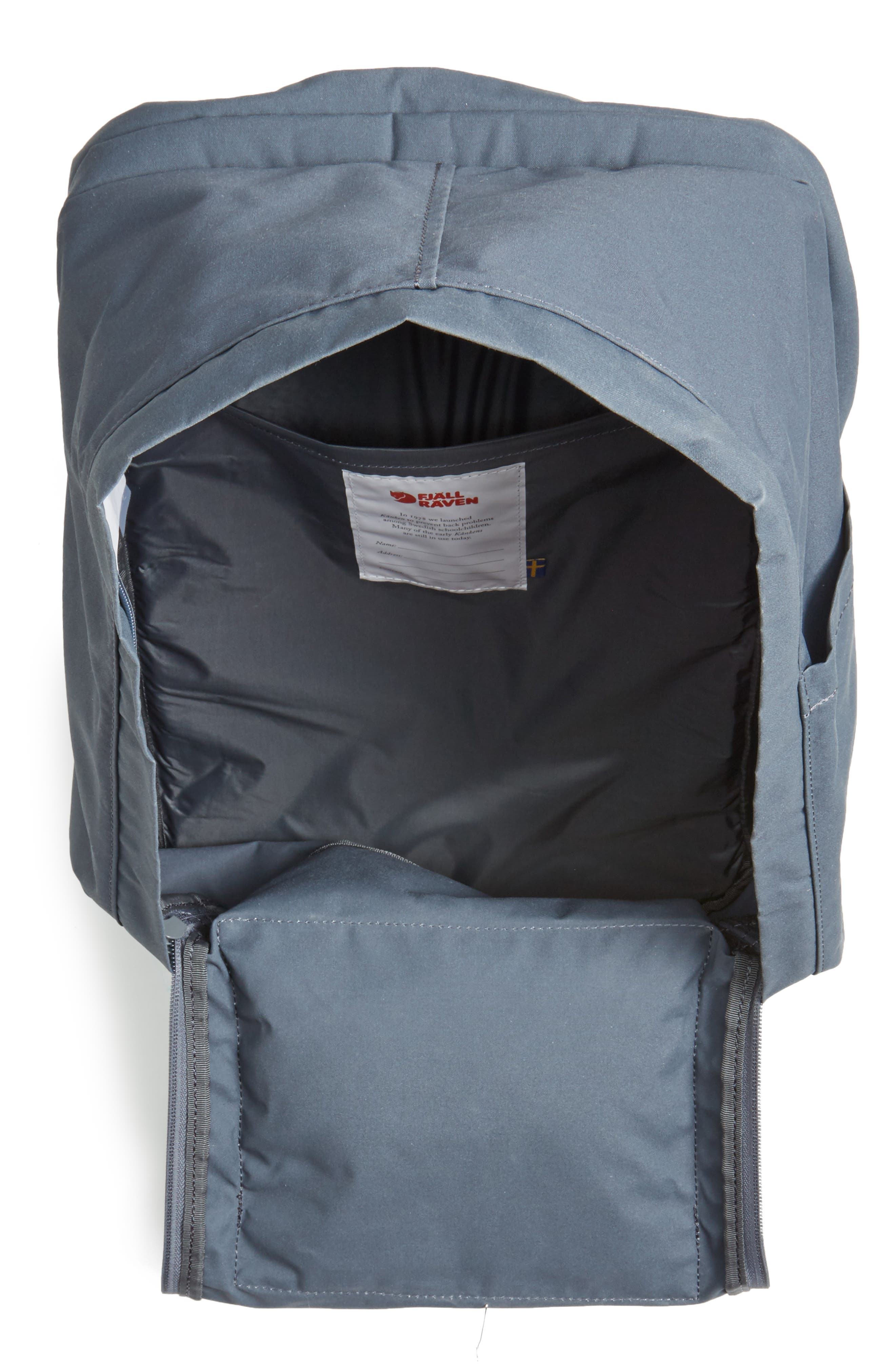 'Kånken' Laptop Backpack,                             Alternate thumbnail 4, color,                             022