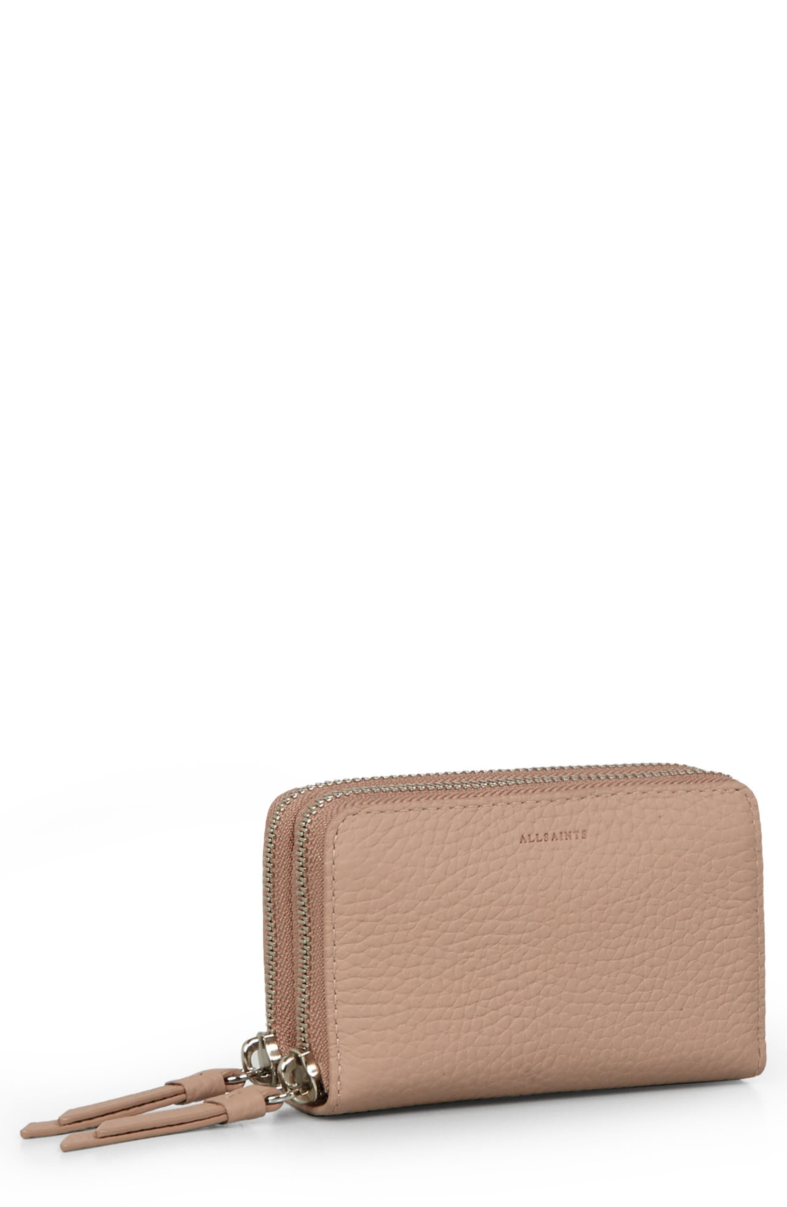 Fetch Leather Card Holder,                             Main thumbnail 3, color,