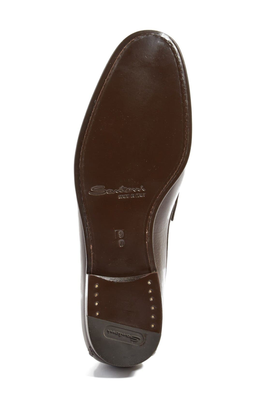'Auburn' Venetian Loafer,                             Alternate thumbnail 8, color,