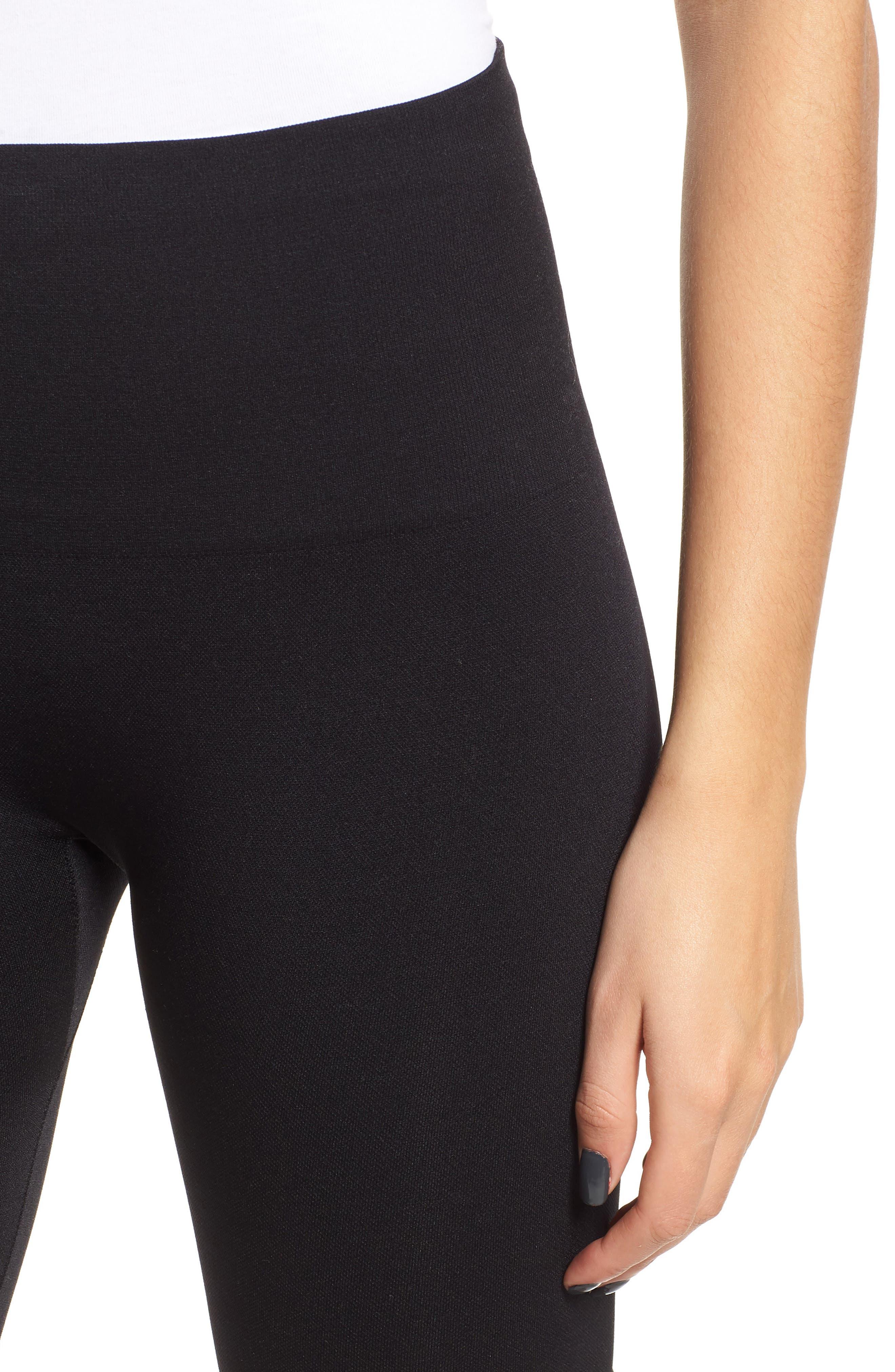 Seamless Bike Shorts,                             Alternate thumbnail 4, color,                             BLACK
