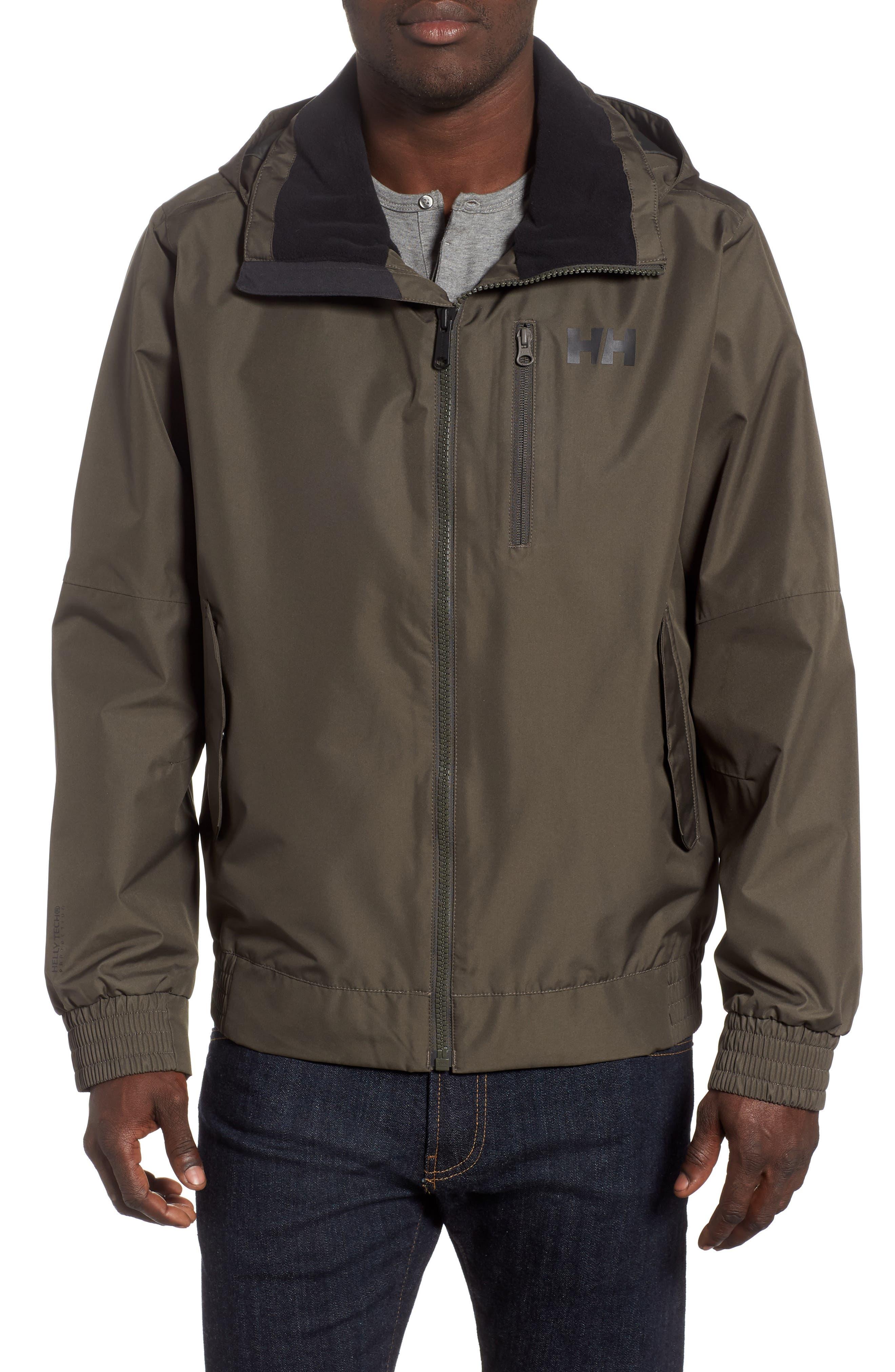 Helly Hansen Dubliner Bomber Jacket, Grey