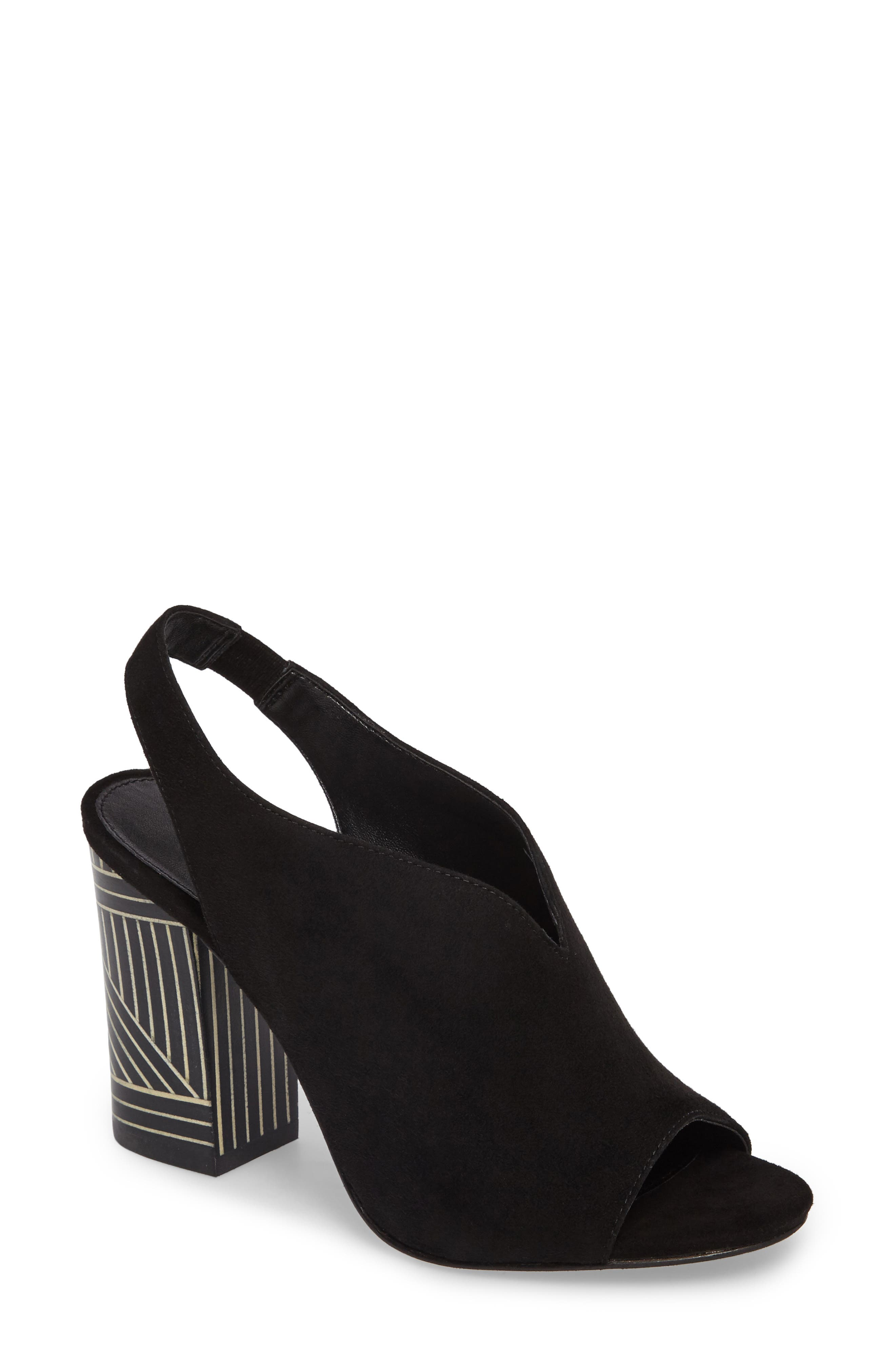 Madra Slingback Sandal,                         Main,                         color, 001