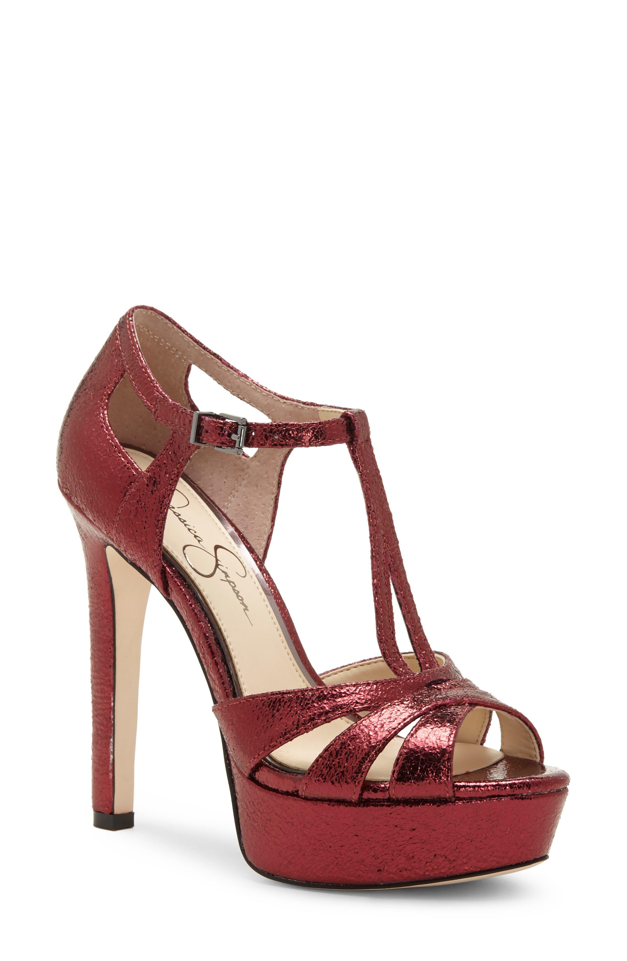 Jessica Simpson Bryanne Sandal, Red