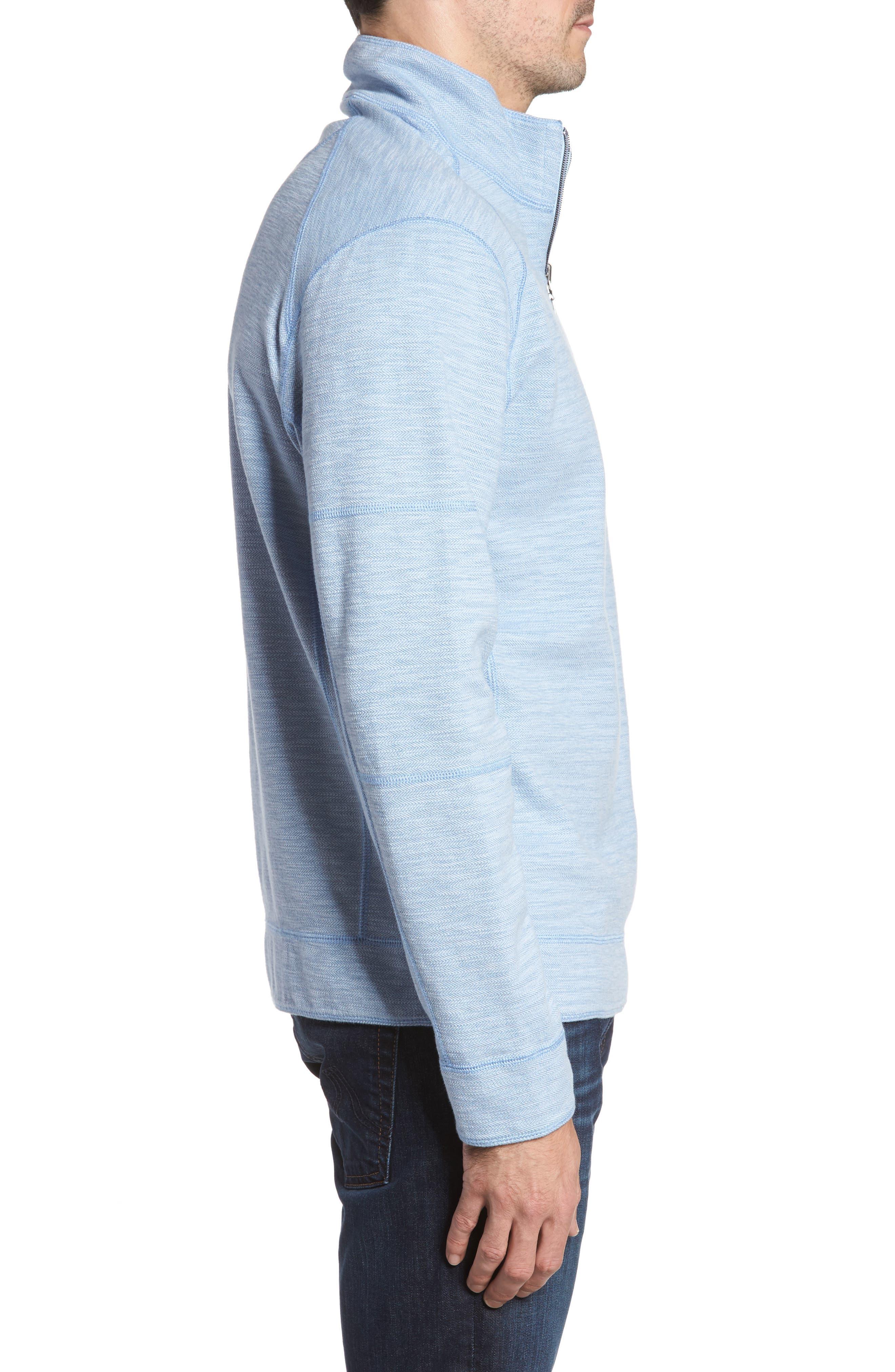 Sandbar Slub Reversible Quarter Zip Pullover,                             Alternate thumbnail 14, color,