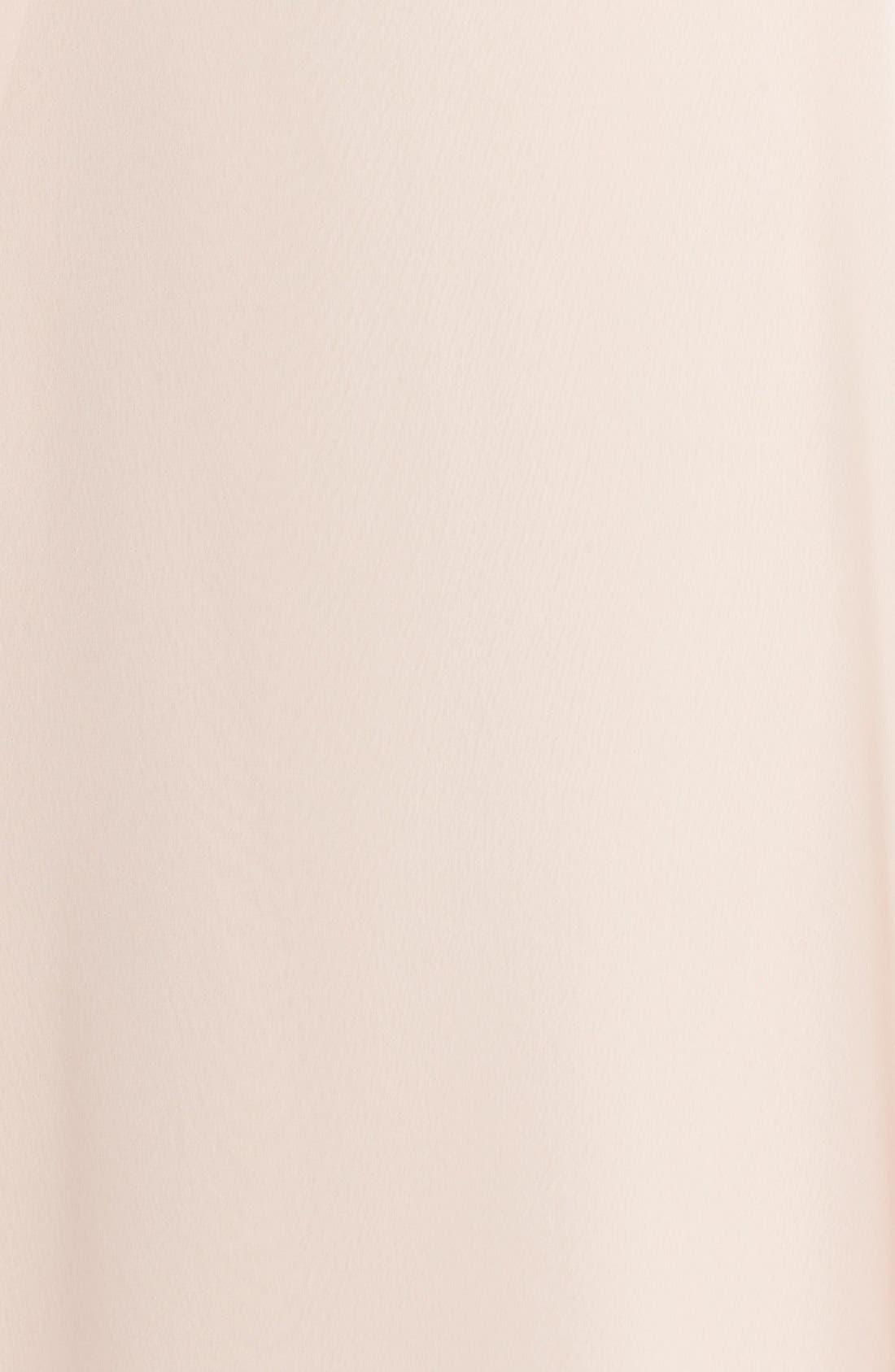 'Delaney' Belted A-Line Chiffon Halter Dress,                             Alternate thumbnail 12, color,