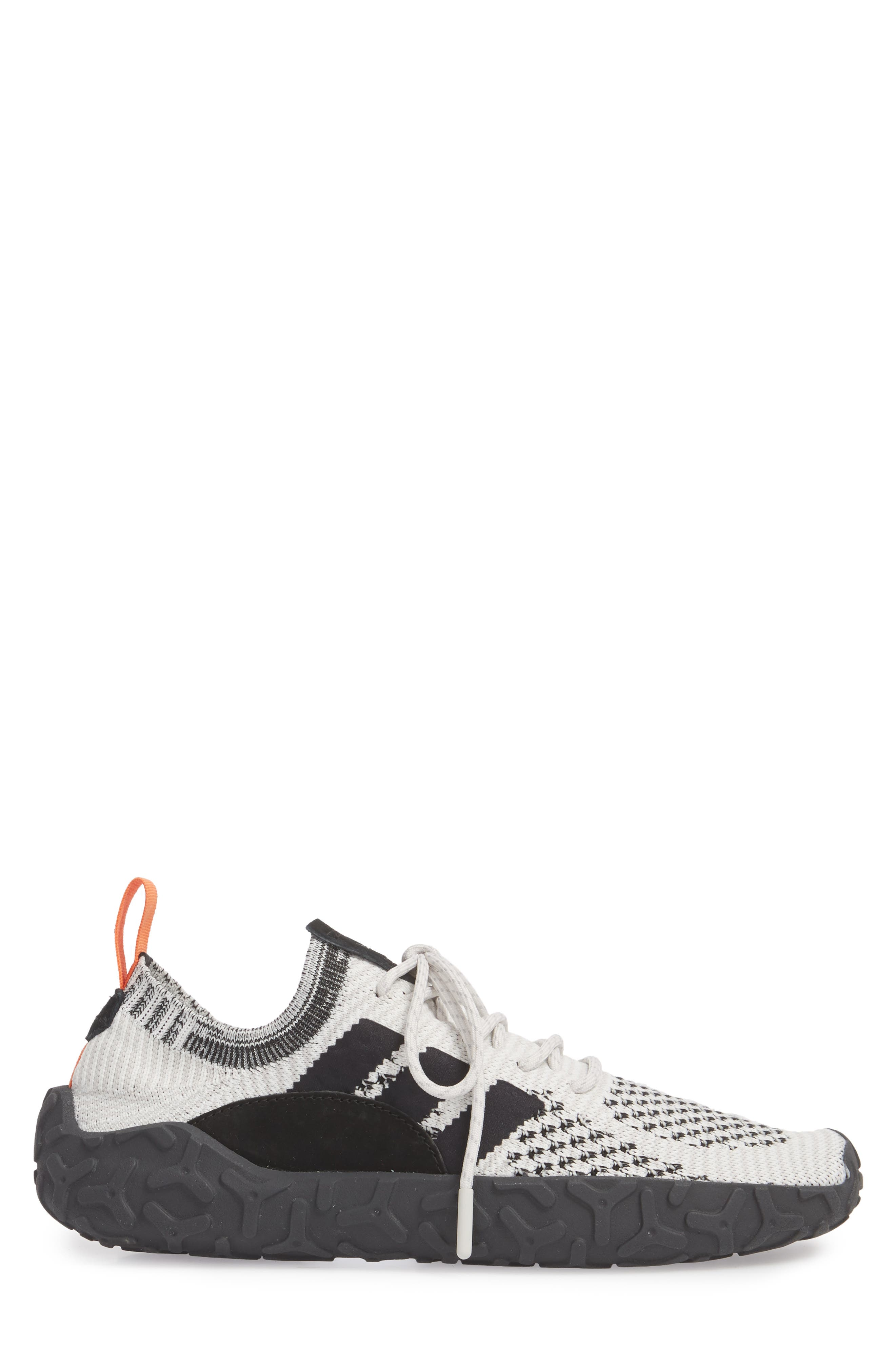 ADIDAS,                             F22 Primeknit Sneaker,                             Alternate thumbnail 3, color,                             005