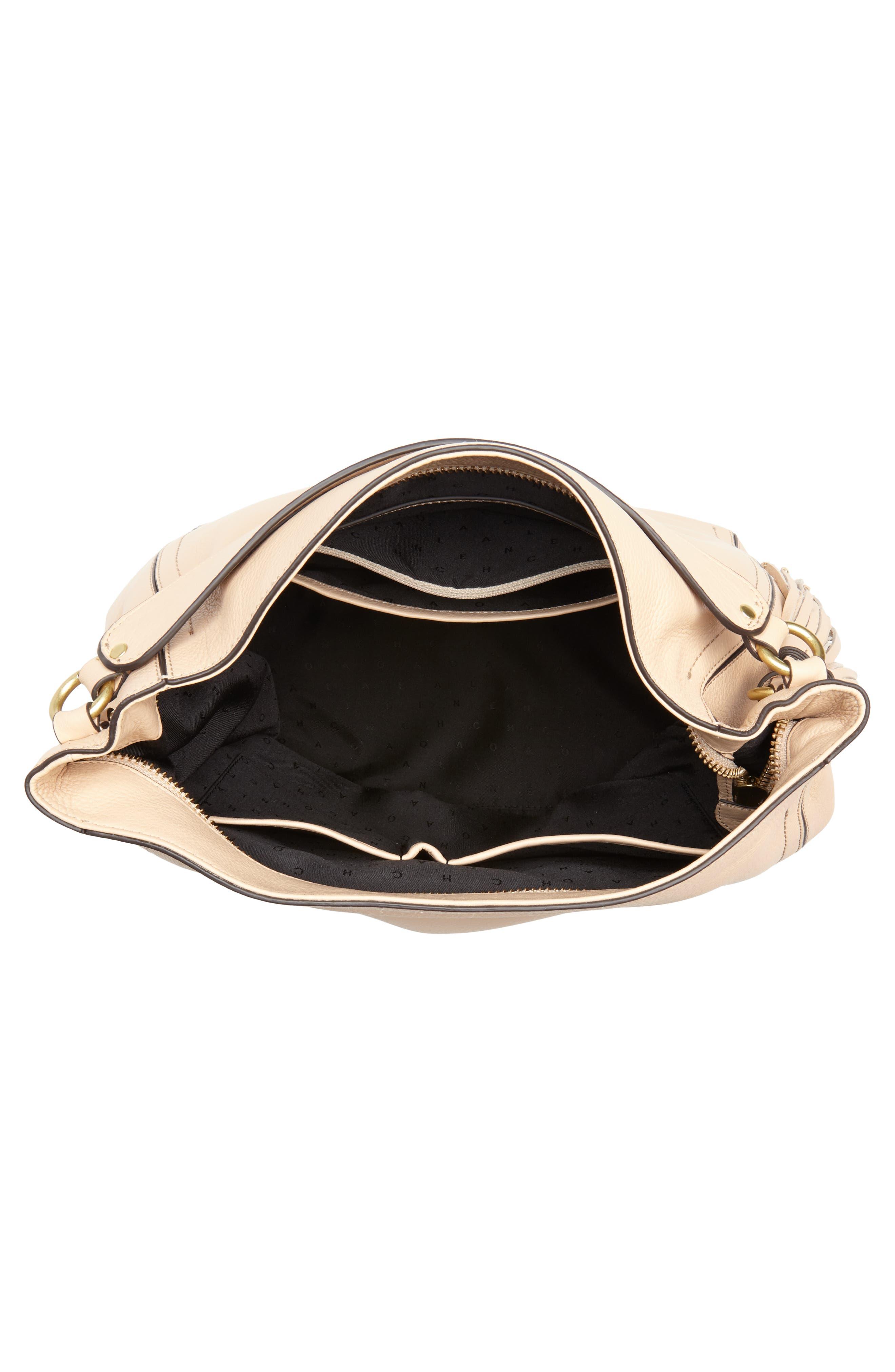 Cassidy RFID Pebbled Leather Bucket Bag,                             Alternate thumbnail 15, color,