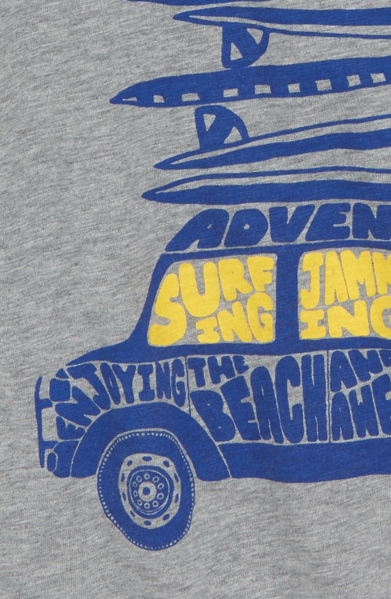 Car Logo Raglan Sleeve T-Shirt,                             Alternate thumbnail 2, color,                             034
