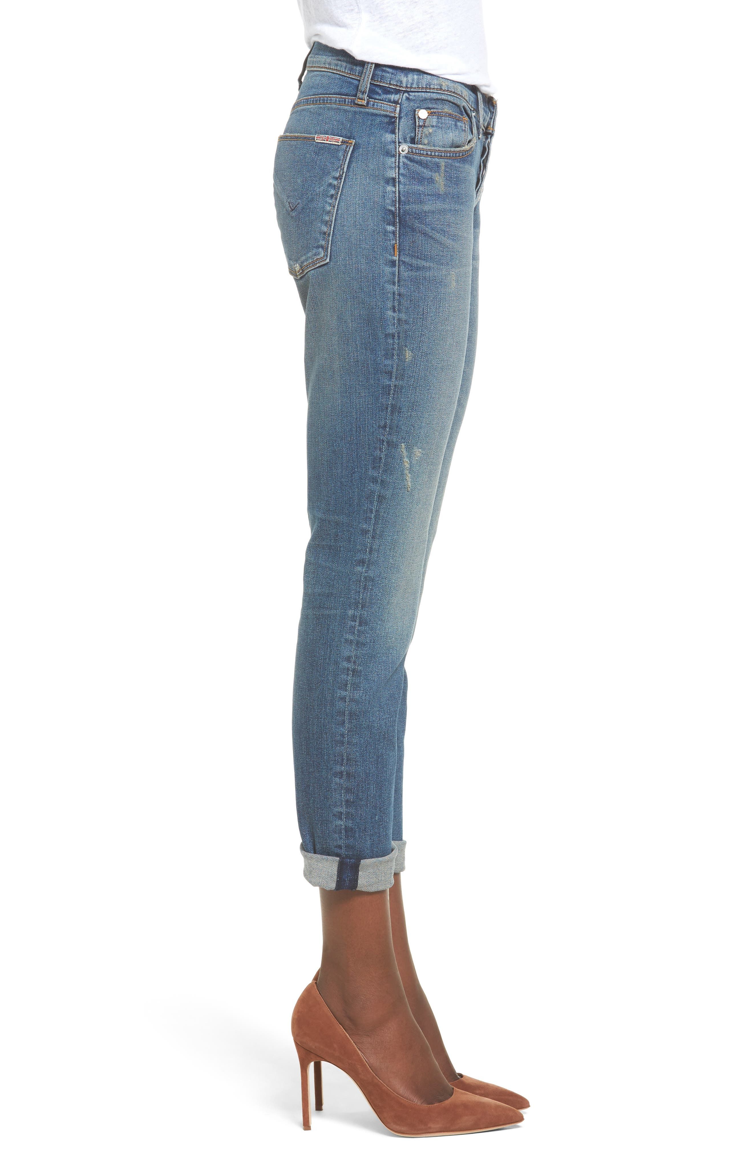 Crop Riley Relaxed Straight Leg Jeans,                             Alternate thumbnail 6, color,
