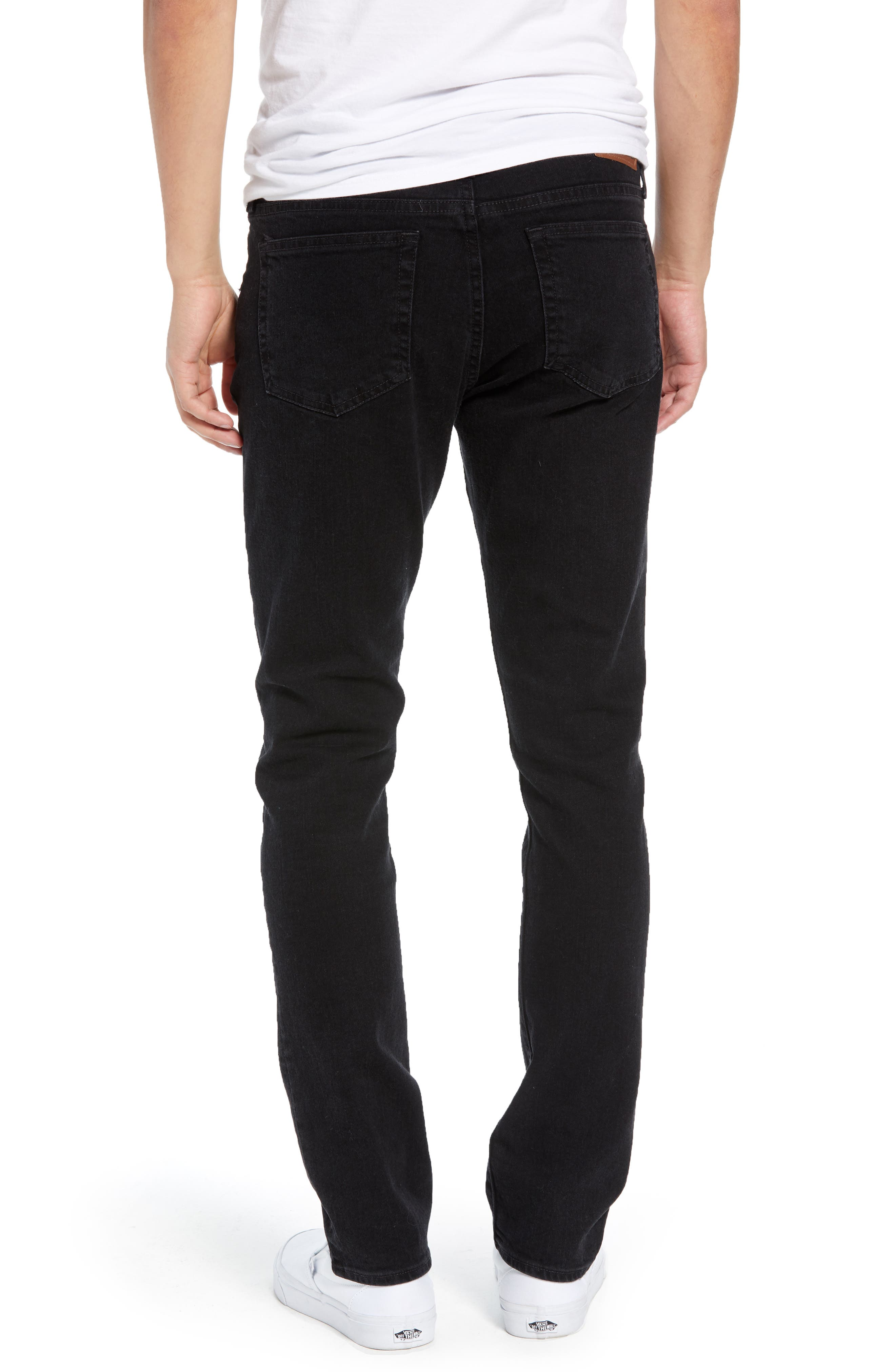 Ripped Skinny Fit Jeans,                             Alternate thumbnail 2, color,                             BROOKLYN WASH